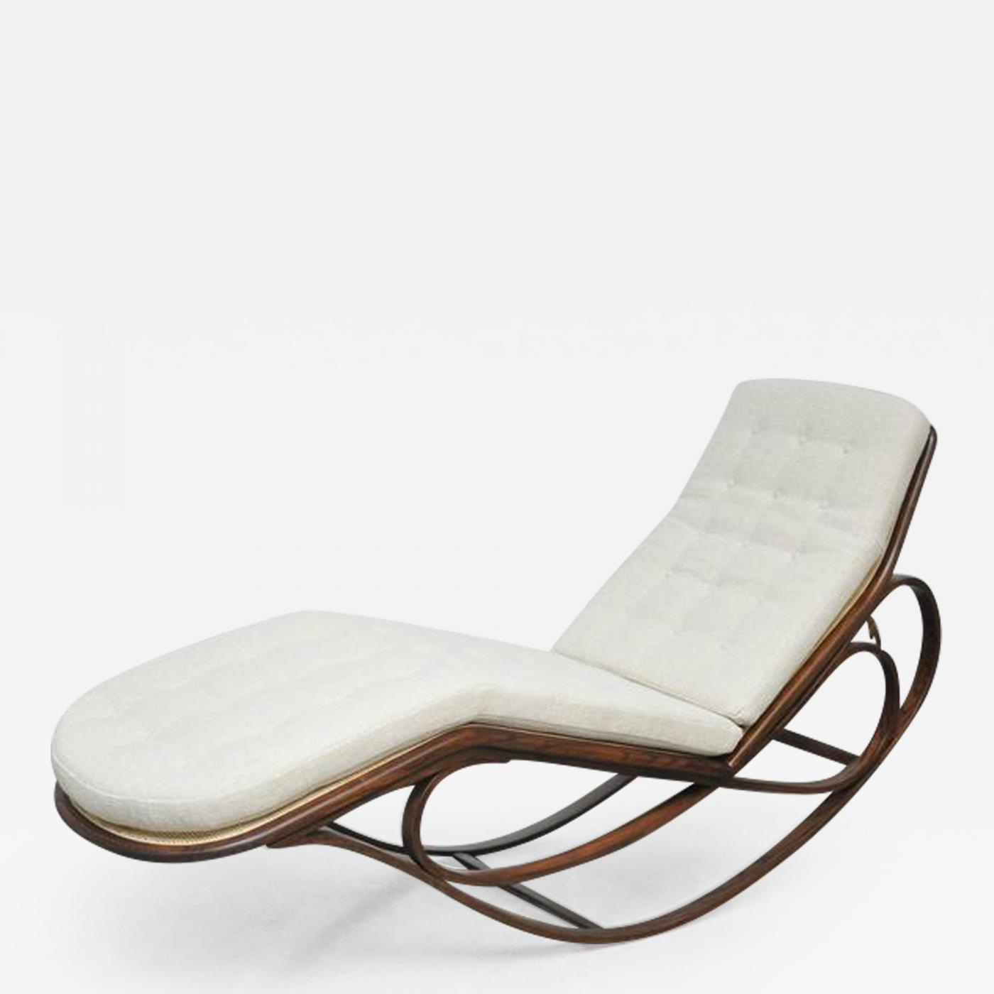 Tommy Bahama Outdoor Cushions, Edward Wormley Dunbar Rocking Chaise Lounge By Edward Wormley