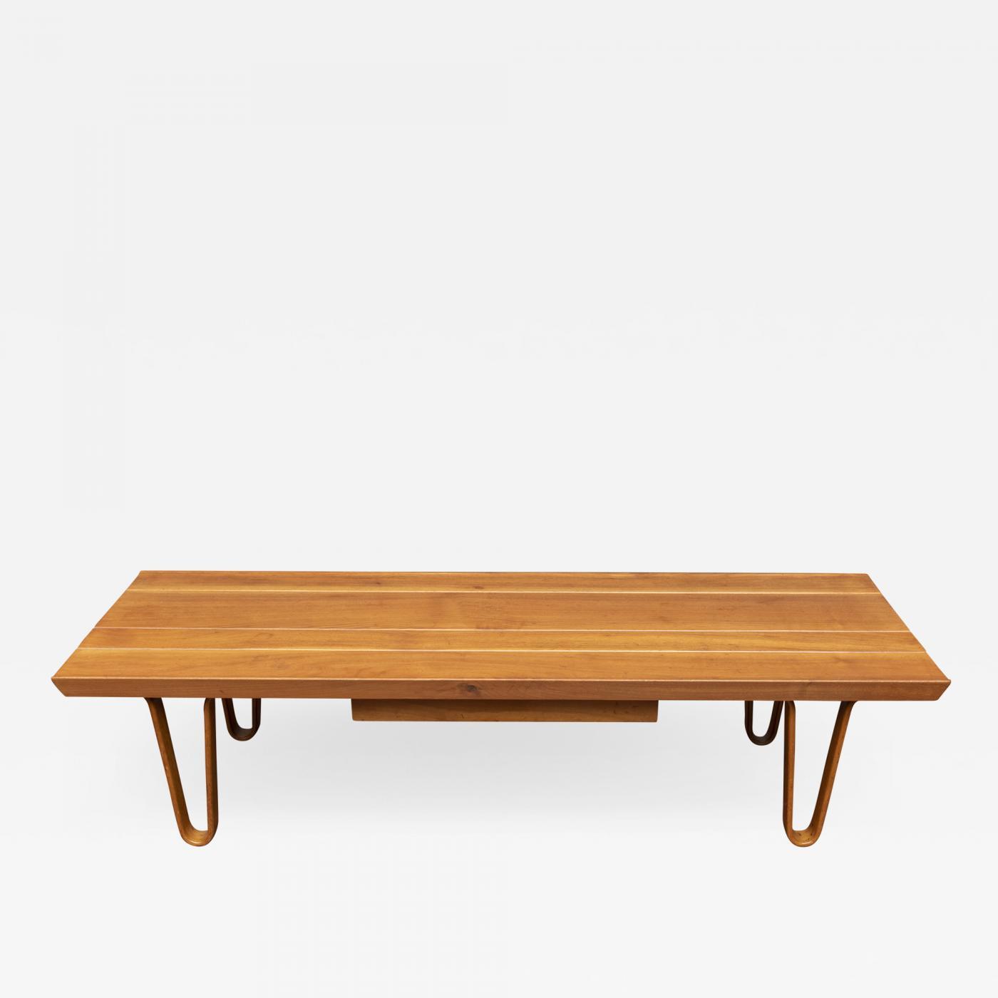 a31190f0f53f Edward Wormley Long John Bench Coffee Table for Dunbar