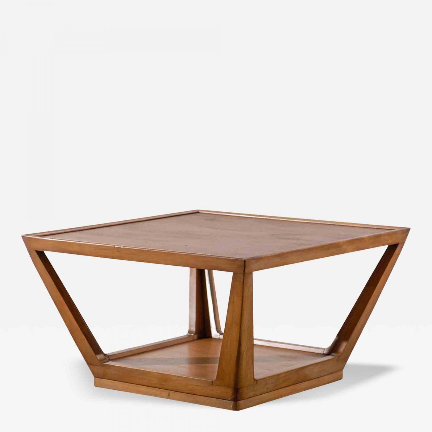 Edward Wormley Edward Wormley for Drexel Trapezoid Coffee Table