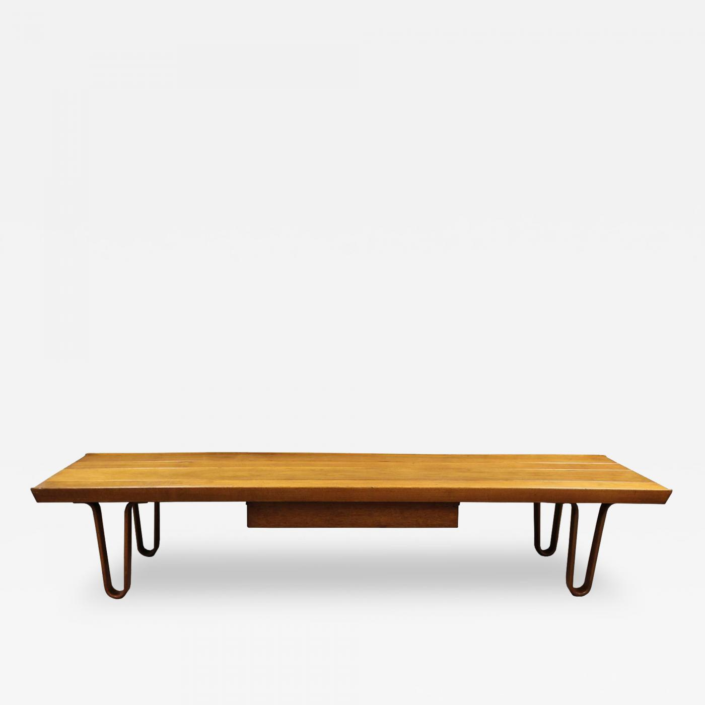 Edward Wormley Long John Bench or Coffee Table by Edward Wormley