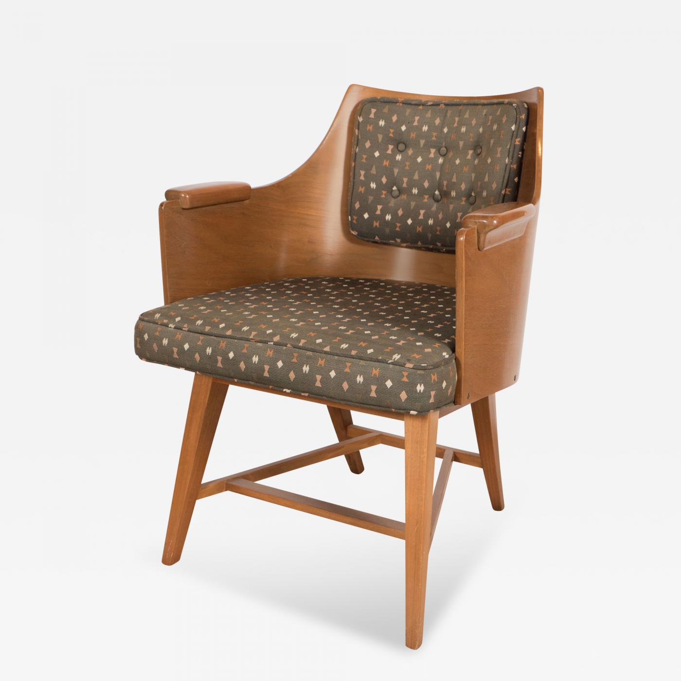 Edward wormley rare dunbar chair by wormley - Edward wormley chairs ...