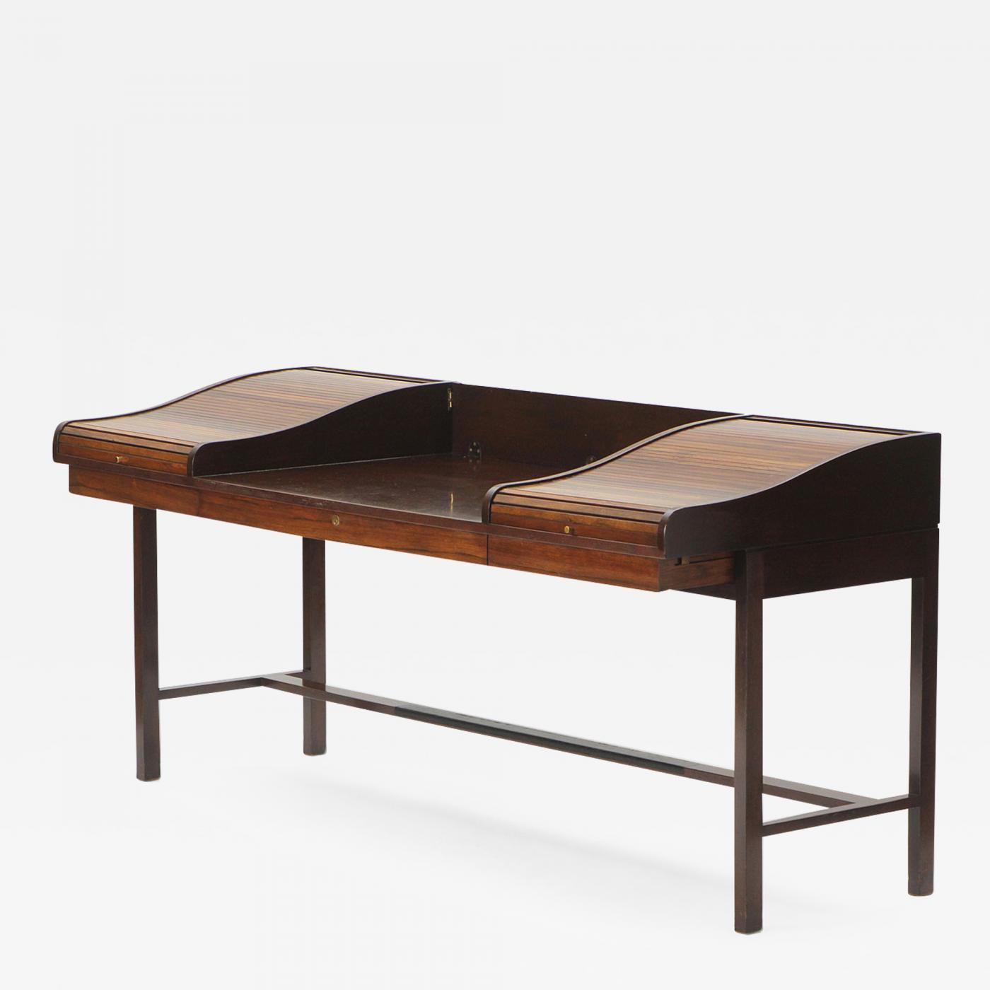 Edward Wormley - Roll Top Writing Desk