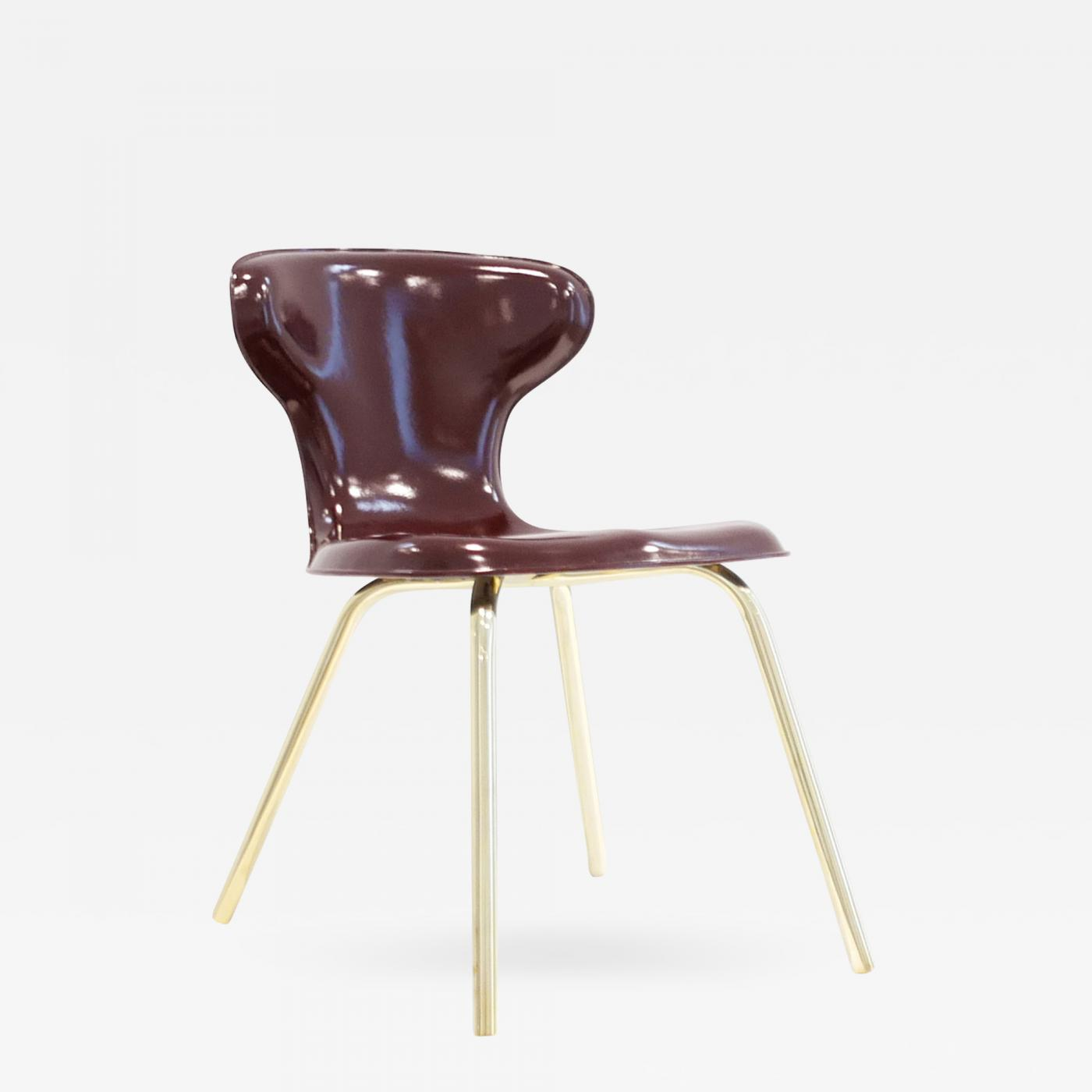 Listings / Furniture / Seating / Dining Chairs · Egmont Arens Fiberglass  Chair