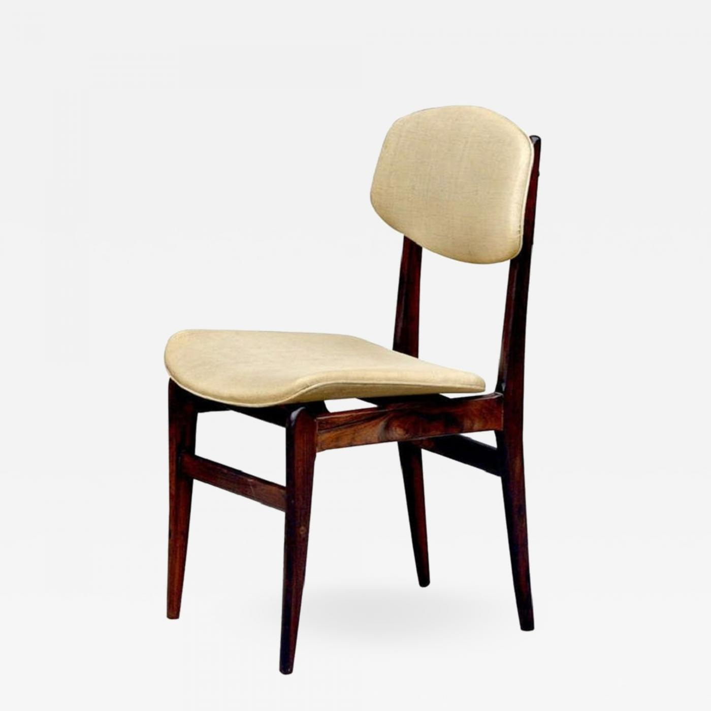 Listings / Furniture / Seating / Side Chairs & Elegant Brazilian Rosewood Side Chair