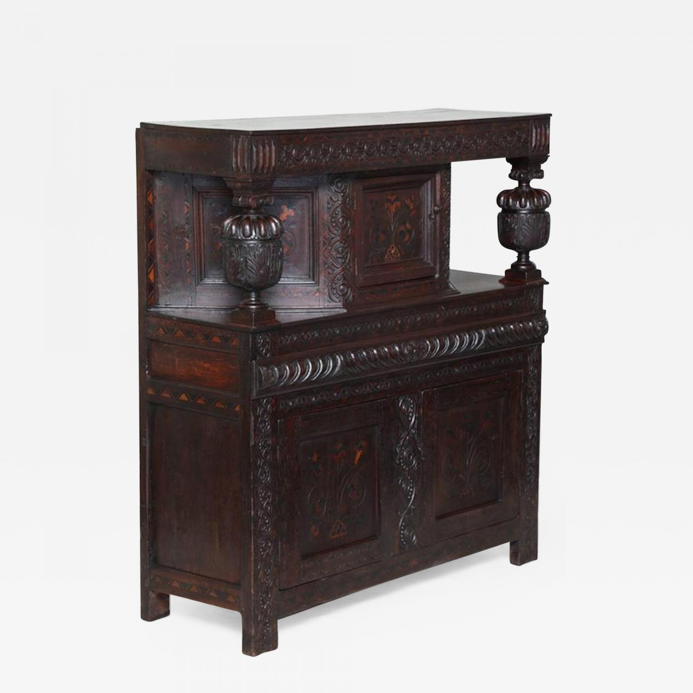 Listings / Furniture / Case Pieces & Storage / Cabinets · Elizabethan Court  Cupboard - Elizabethan Court Cupboard