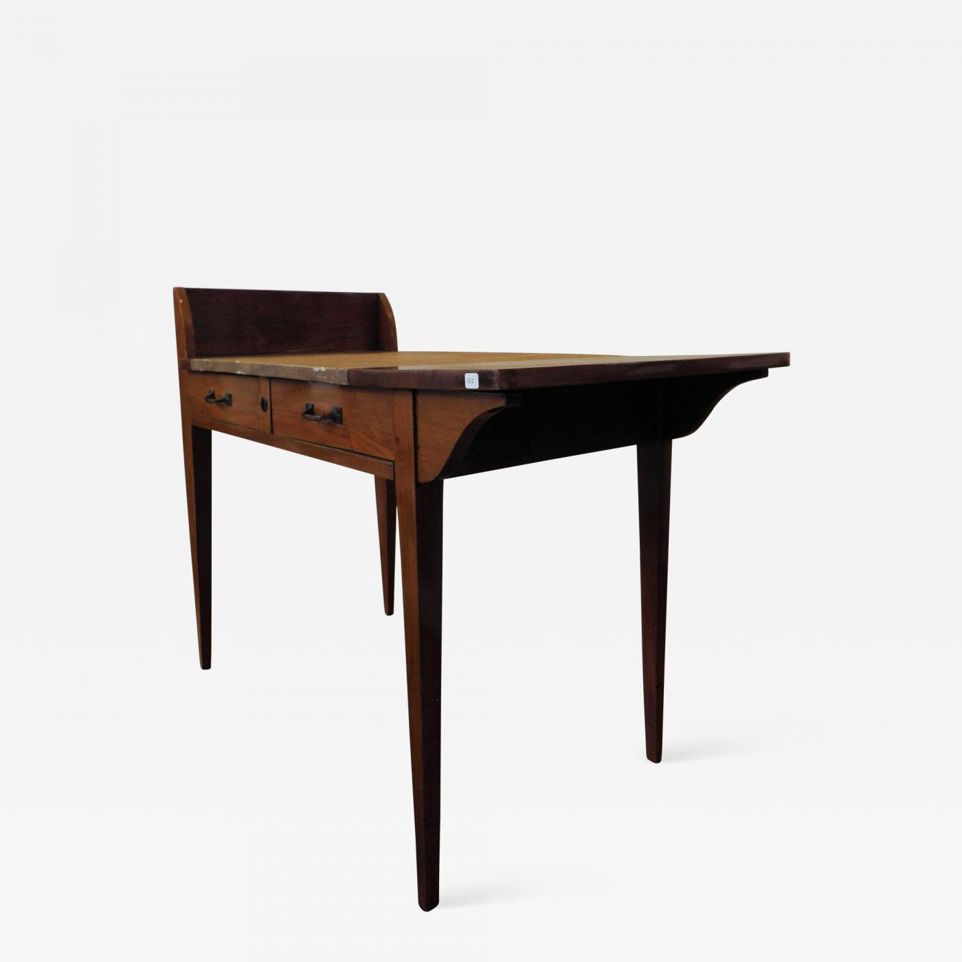 Picture of: Eugene Printz Art Deco Wooden Desk By Eugene Printz
