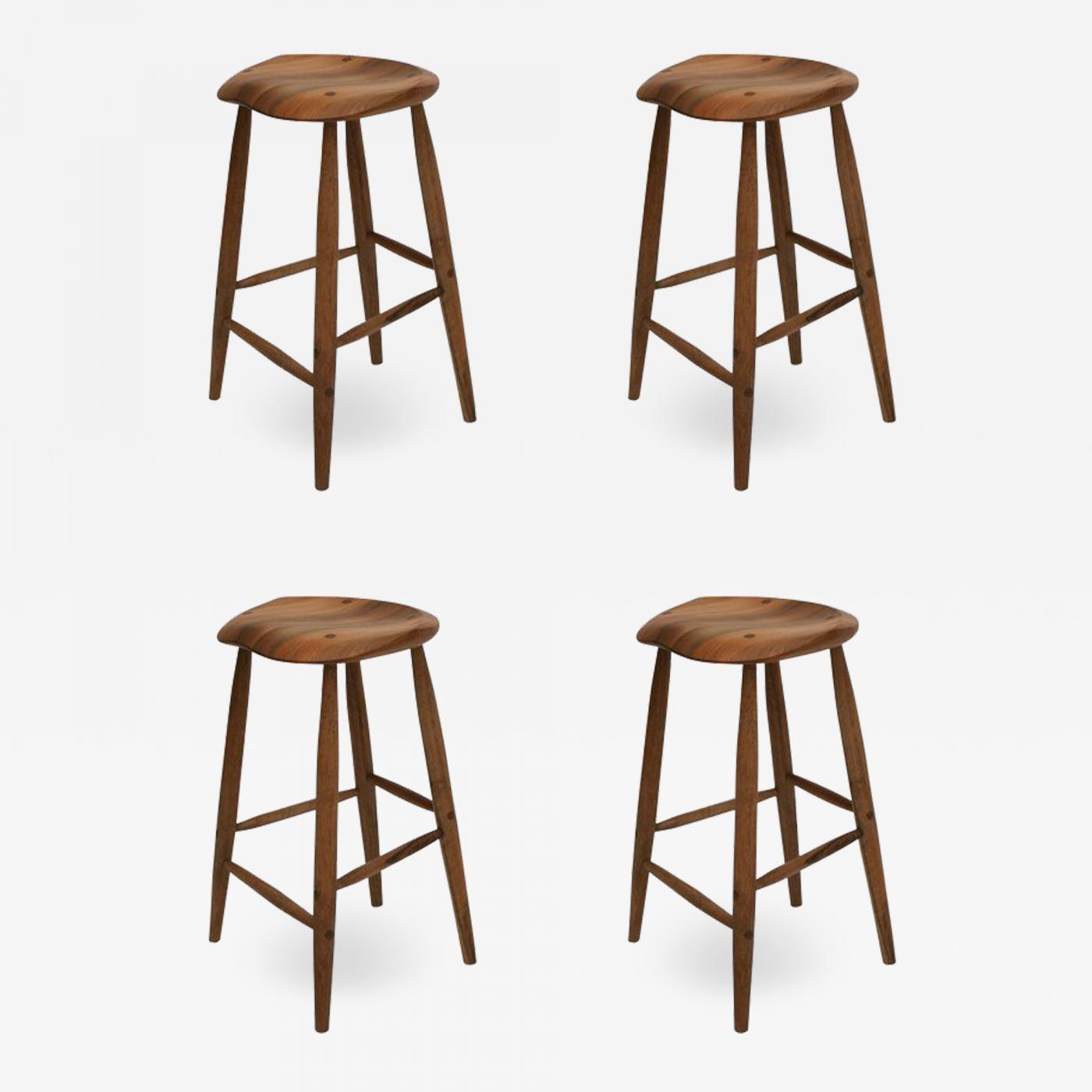 Miraculous Fabian Fischer Handcrafted Studio Four Legged Stool By Fabian Fischer Germany 2019 Ibusinesslaw Wood Chair Design Ideas Ibusinesslaworg