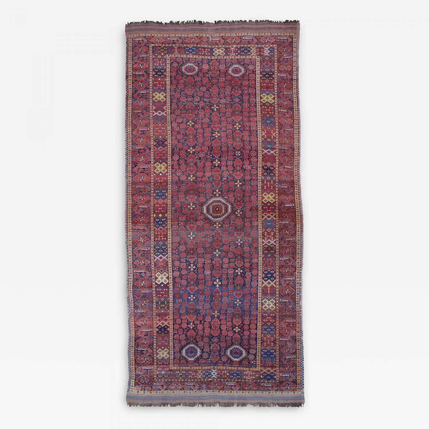 Fantastic Antique Beshir Carpet