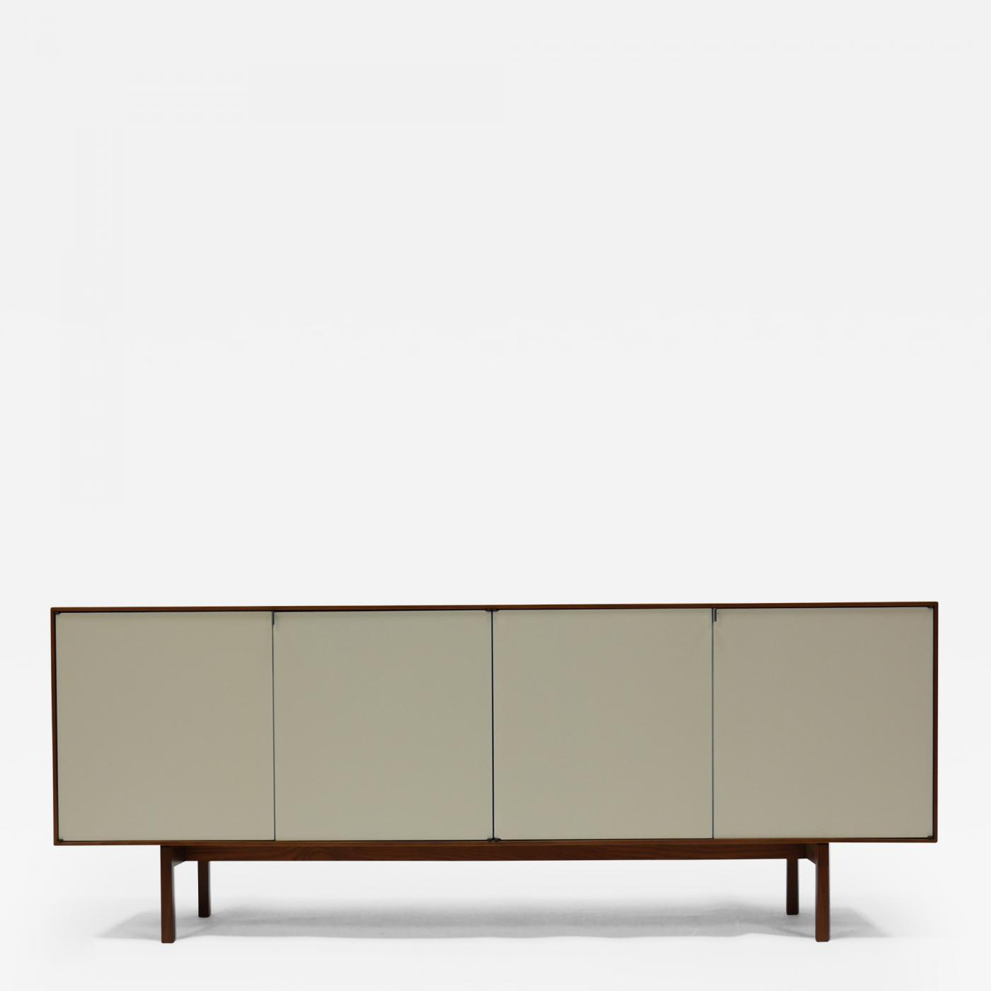 Design White Credenza florence knoll credenza in walnut and white lacquer by click on image to enlarge