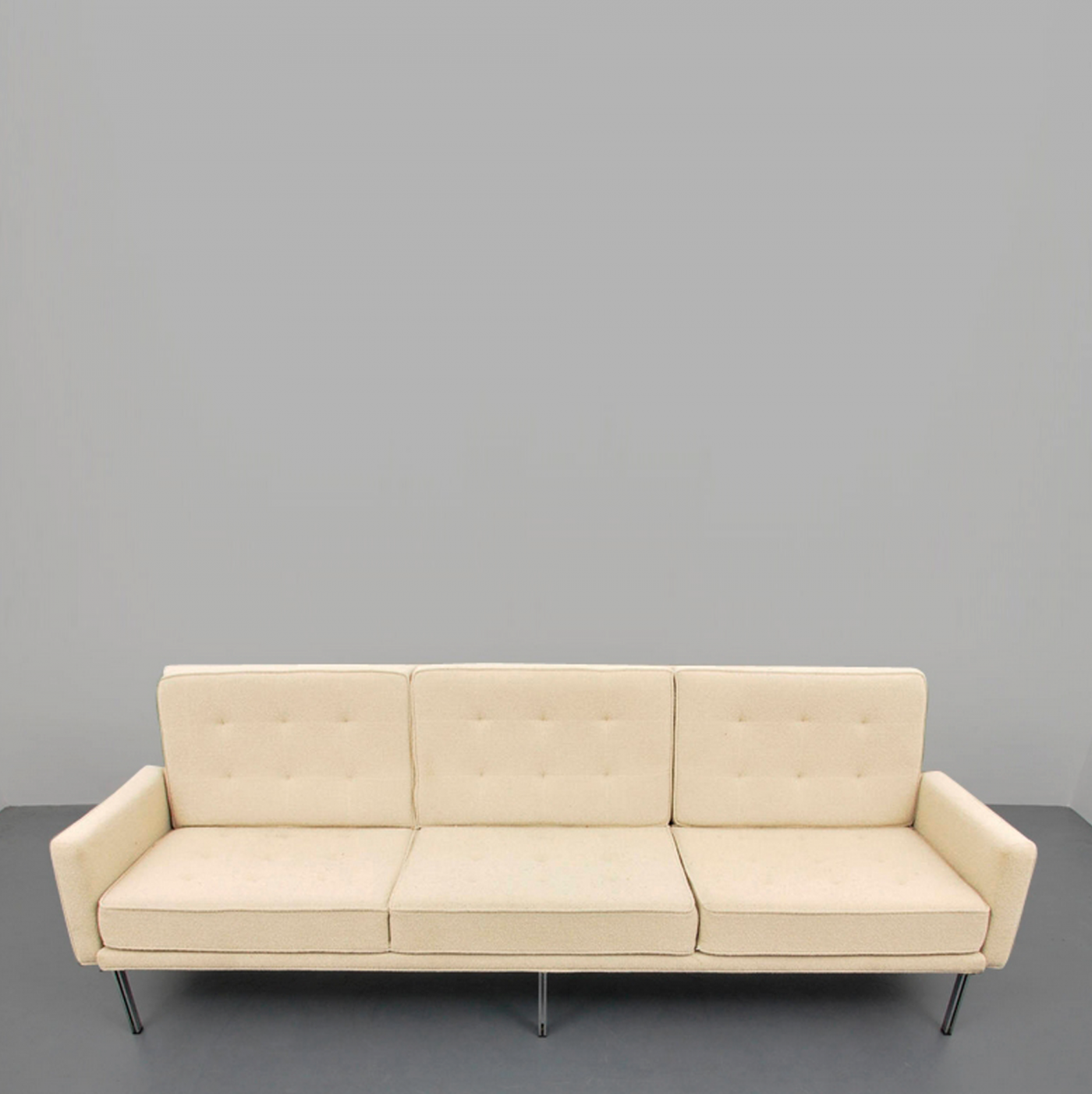 "Florence Knoll Early Florence Knoll ""Parallel Bar"" Sofa Circa 1960"