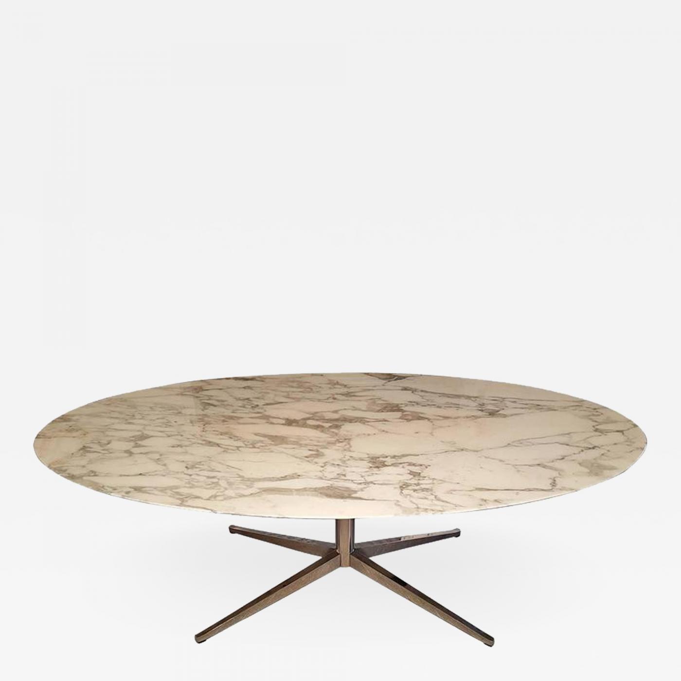Florence Knoll Carrara Marble Coffee Table