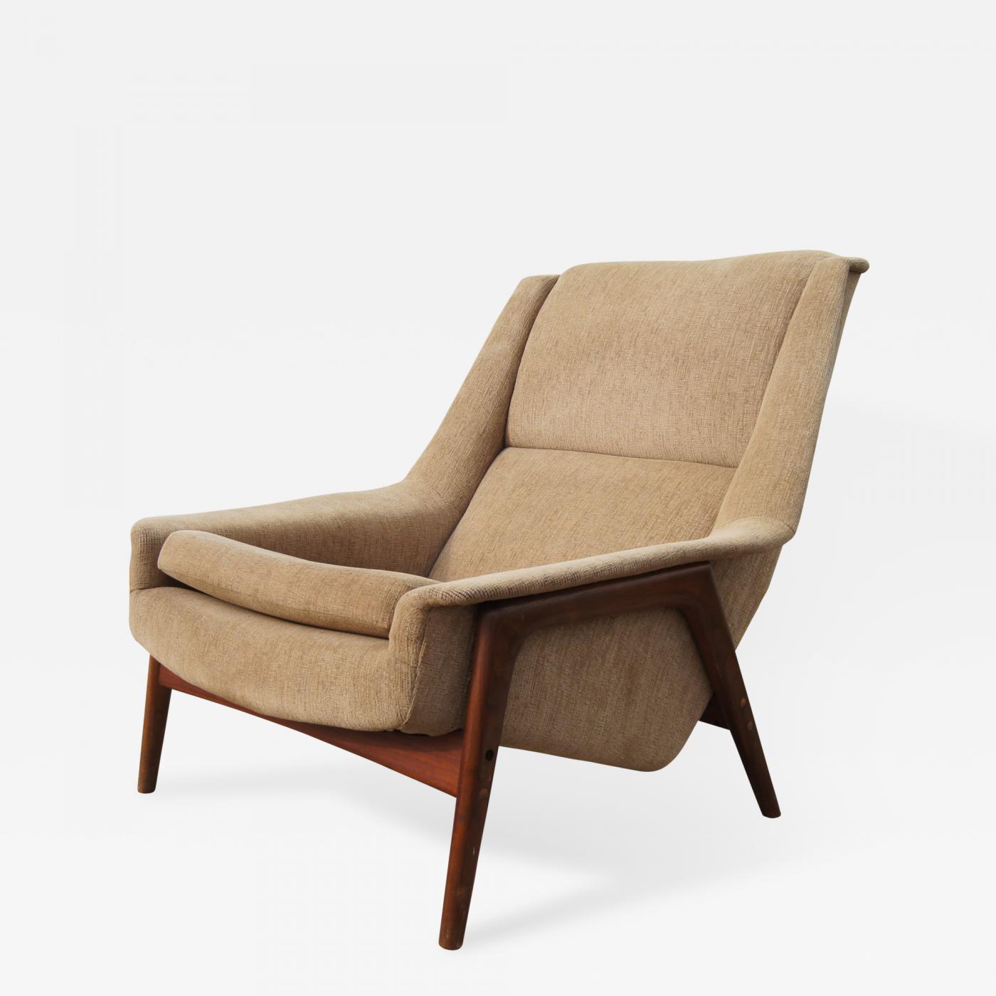 Folke Ohlsson Lounge Chair By Folke Ohlsson For Dux