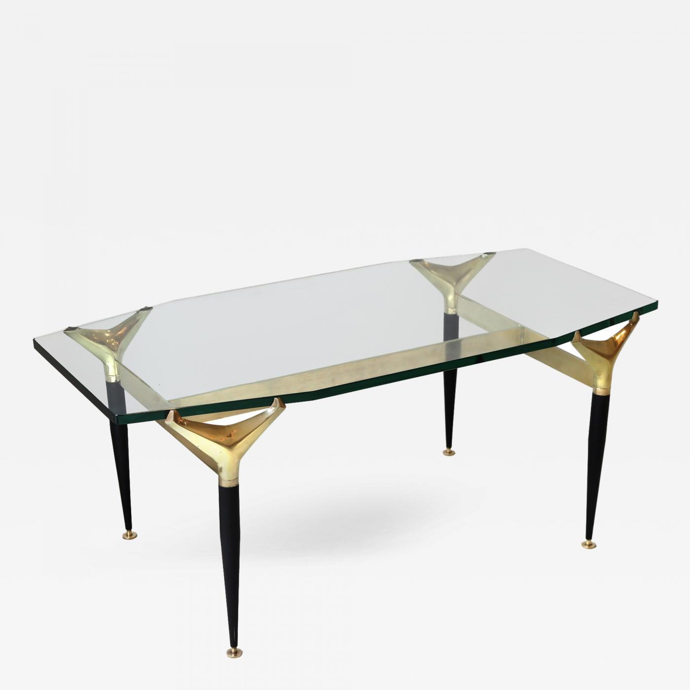 Fontana arte coffee table attributed