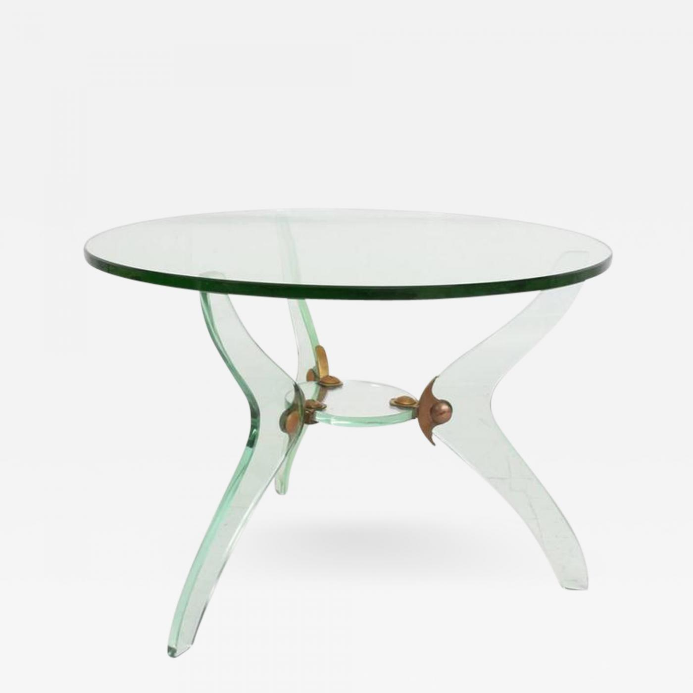 Fontana arte glass and bronze coffee table attributed fontana listings furniture tables coffee tables geotapseo Image collections