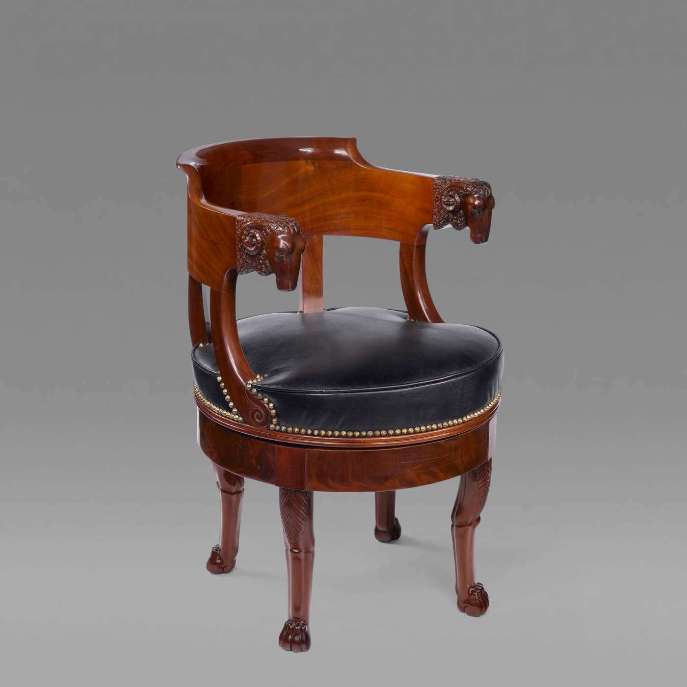 fran ois honor georges jacob desmalter french empire fauteuil attributed to francois honore. Black Bedroom Furniture Sets. Home Design Ideas