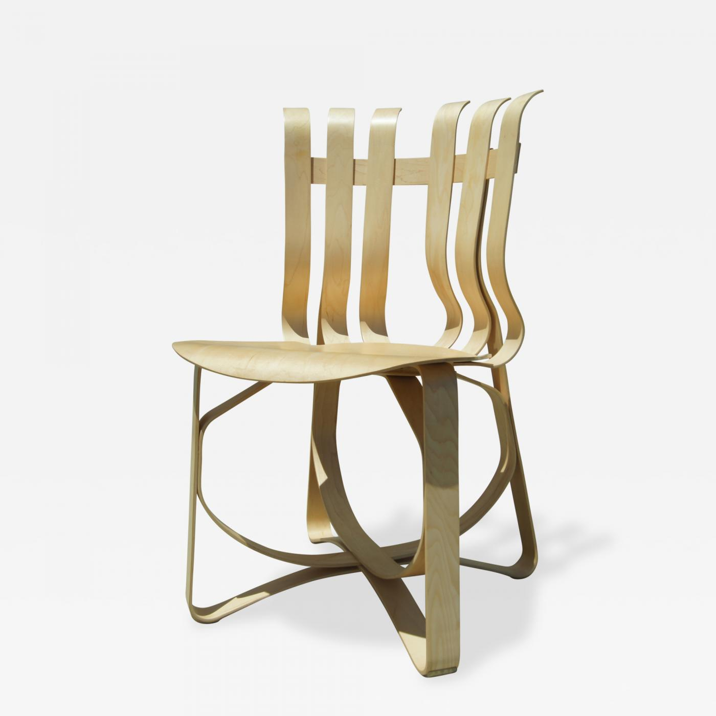 Frank Gehry - Early Hat Trick Side Chair by Frank Gehry for Knoll