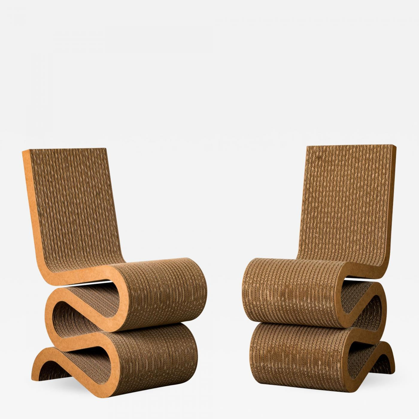 """Frank Gehry Chaise Carton frank gehry - frank gehry """"wiggle"""" chair"""