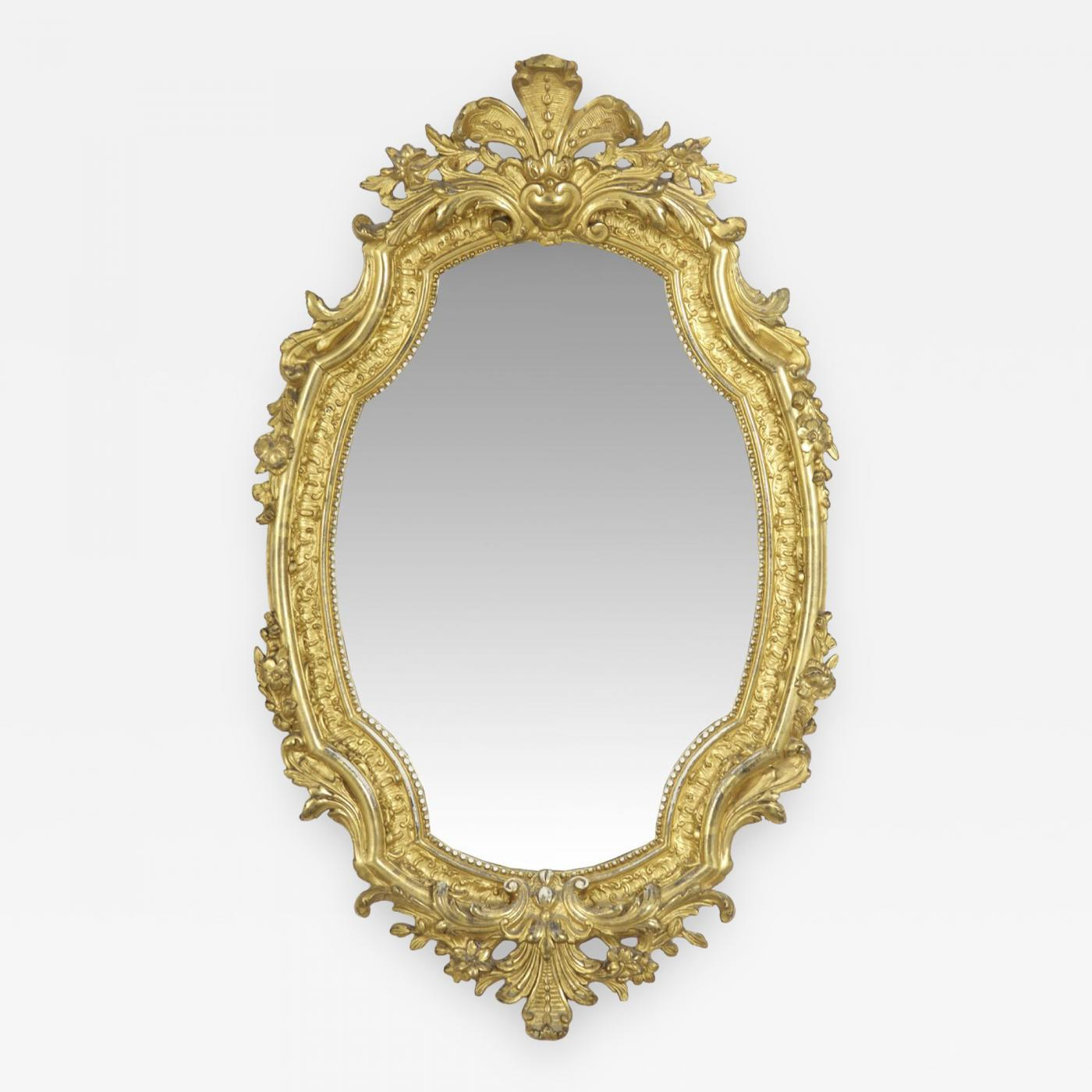 6686d8a052ea Listings   Furniture   Mirrors   Wall Mirrors · French Louis XV Style ...