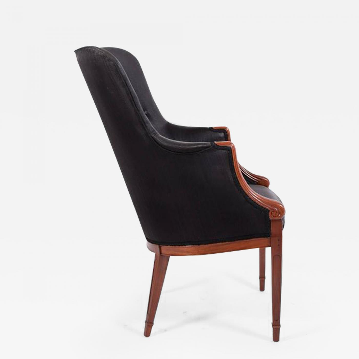Frits Henningsen Frits Henningsen High Back Easy Chair 1940s