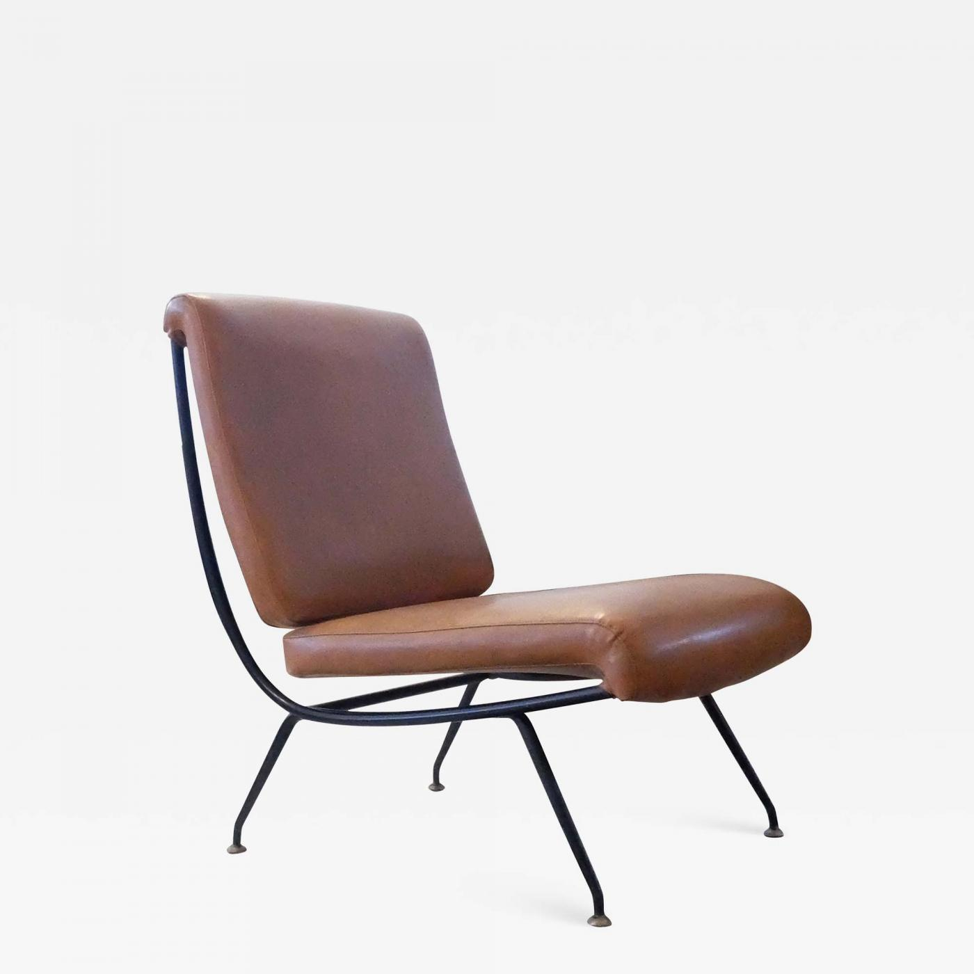 Admirable Gastone Rinaldi Gastone Rinaldi For Rima Italian Mid Century Modern Du 24 Brown Armchair 1956 Bralicious Painted Fabric Chair Ideas Braliciousco