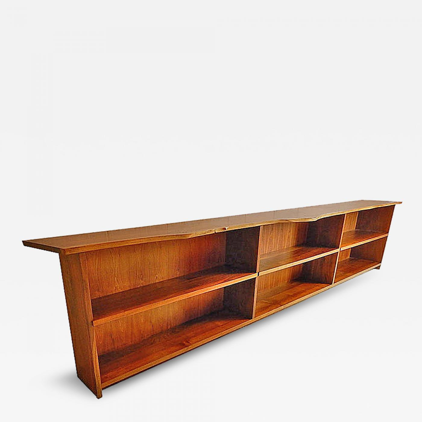 Listings / Furniture / Case Pieces U0026 Storage / Bookcases · George Nakashima Unique  Custom ...