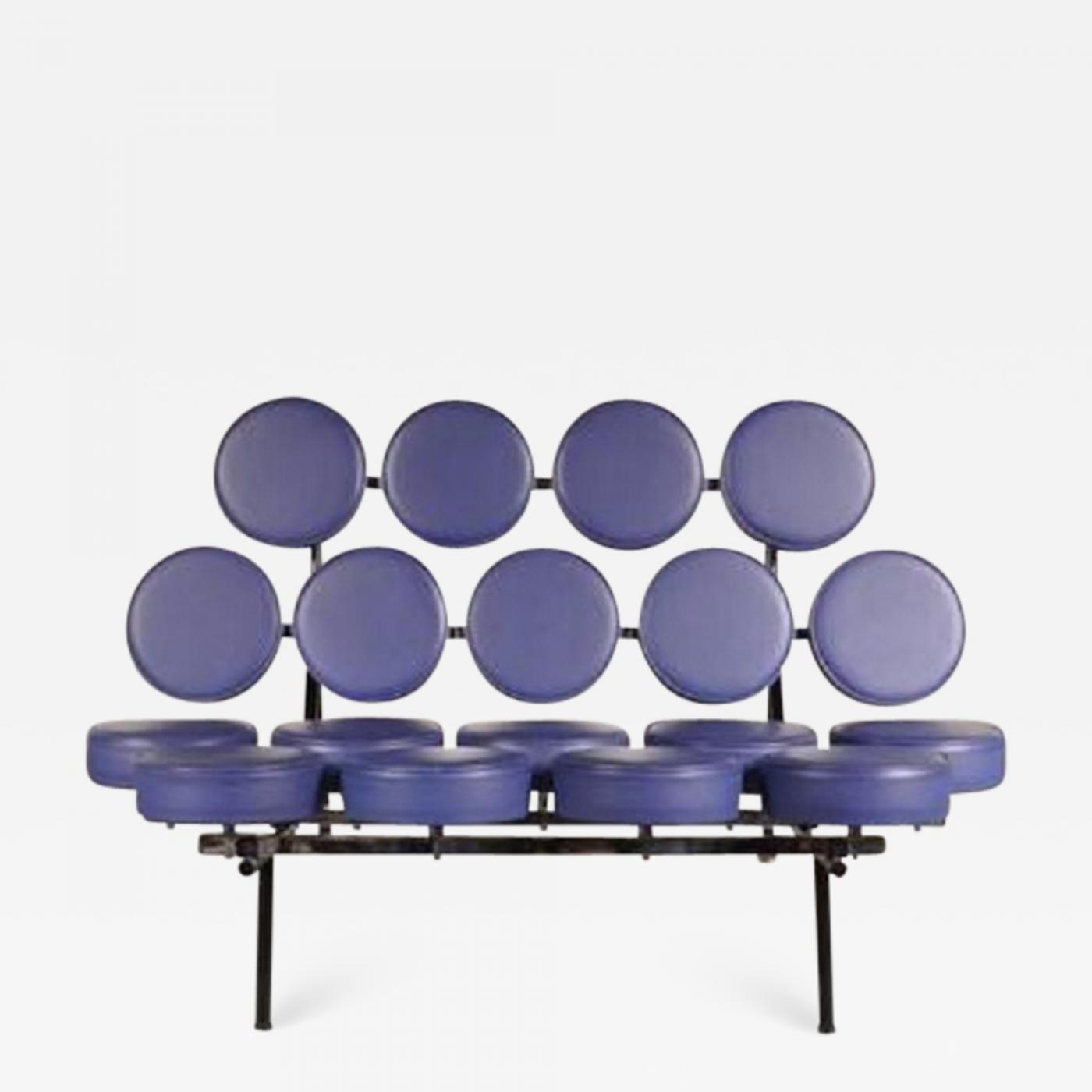 1994s marshmallow sofa by george nelson for vitra germany rh incollect com  george nelson marshmallow sofa price