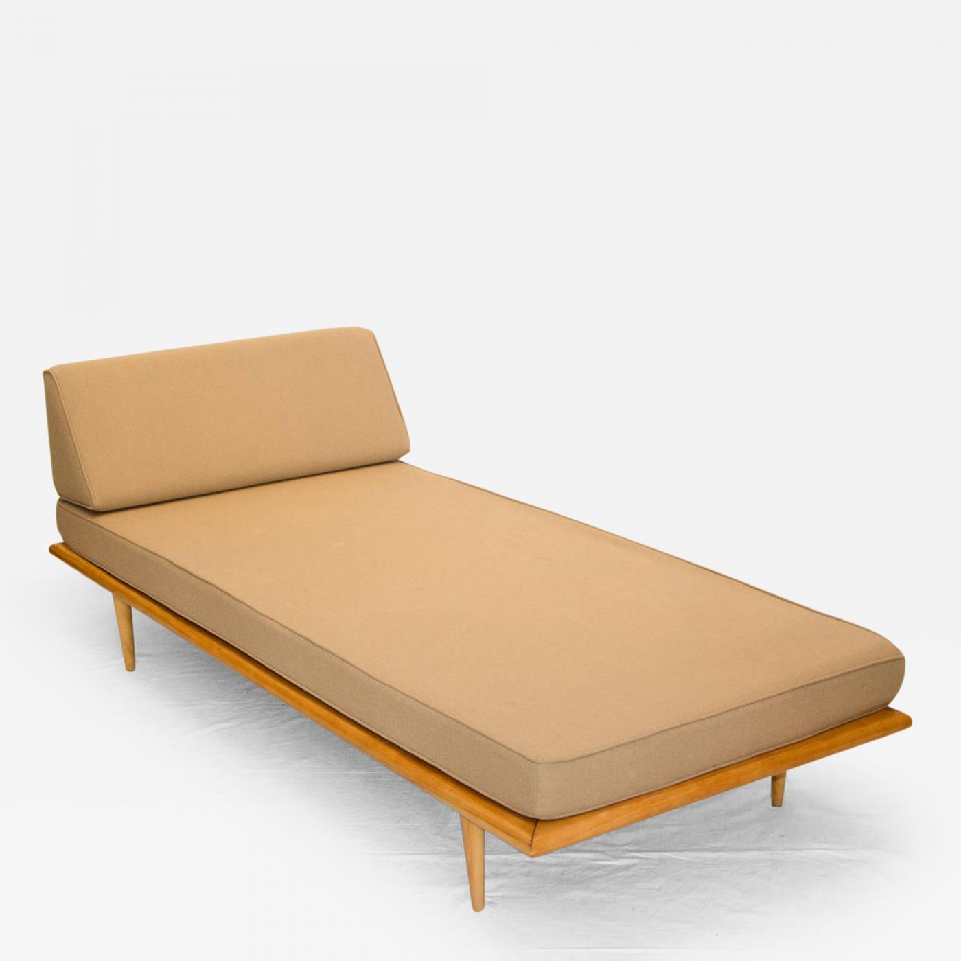 George nelson mid century daybed or chaise longue george nelson for herman - Chaise herman miller ...