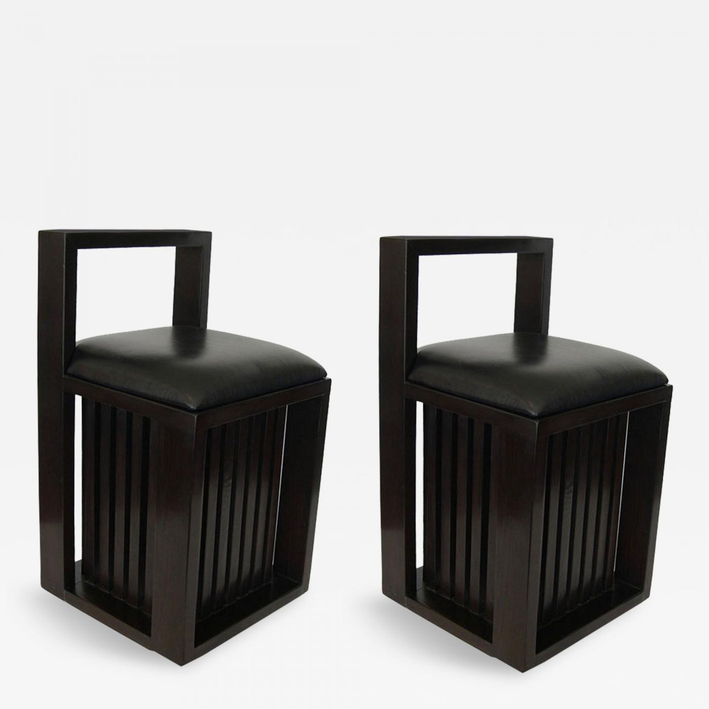 George Nelson Pair of Petite Chairs by E Noyes and George Nelson
