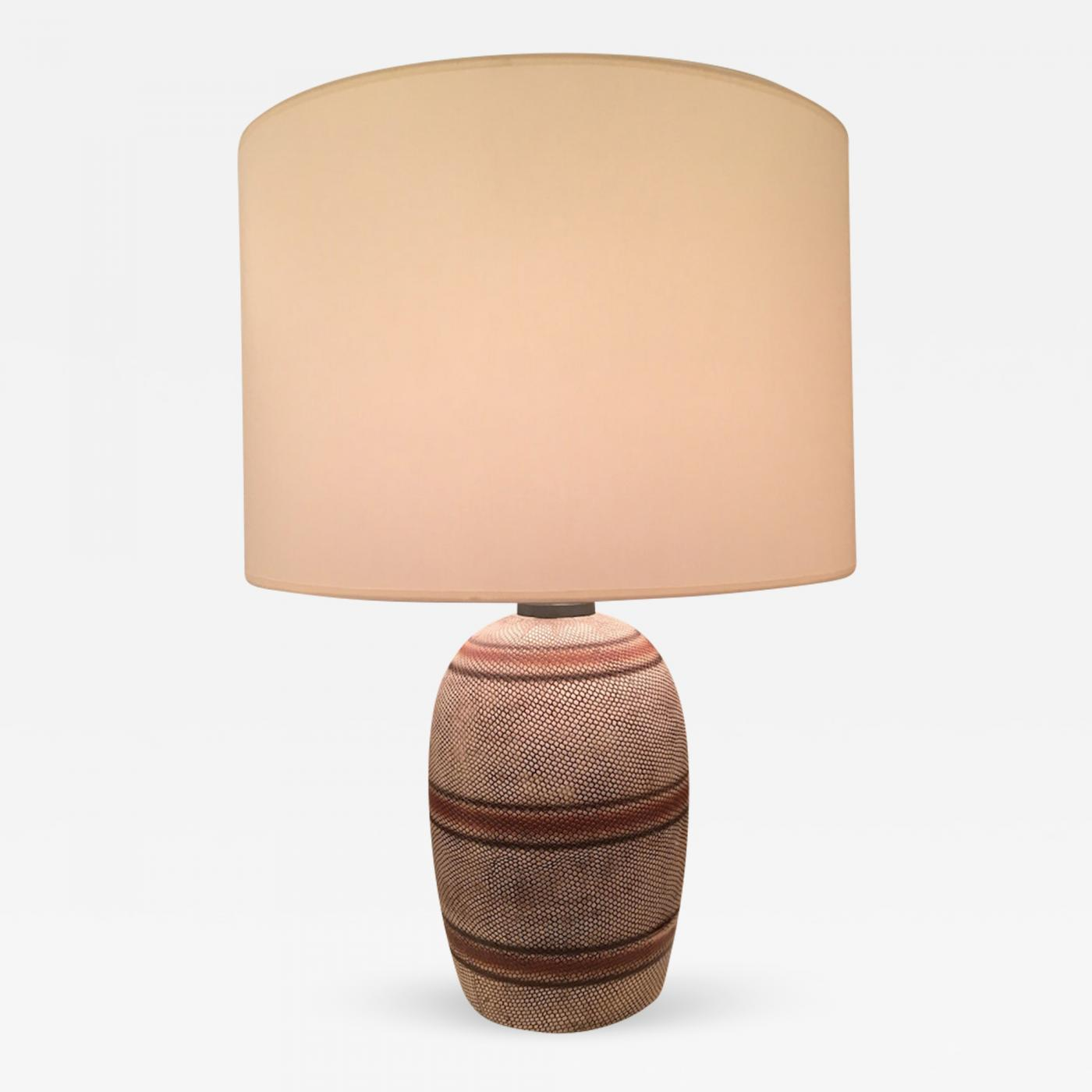 Picture of: Georges Jouve French Ceramic Mid Century Table Lamp