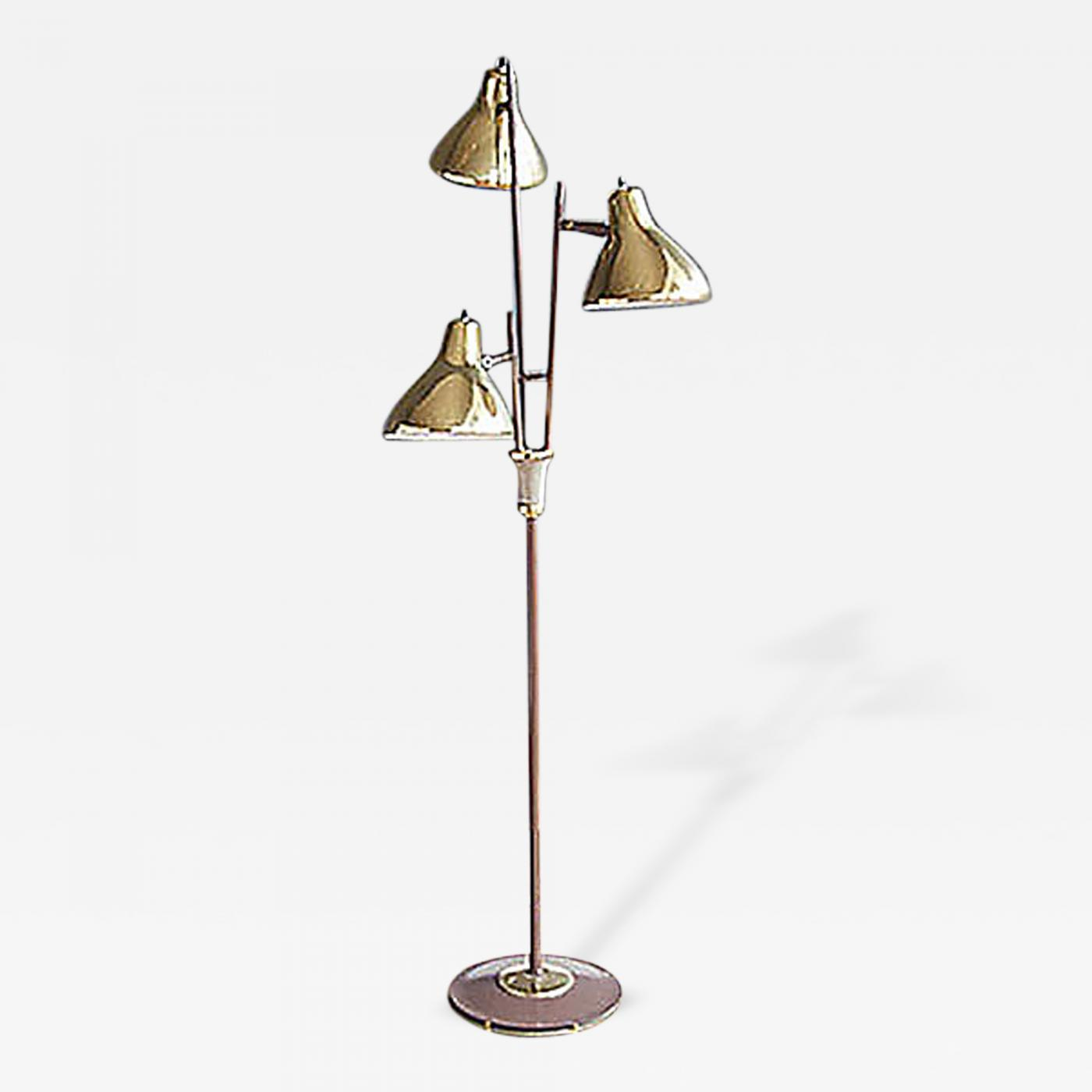 Gerald Thurston - Gerald Thurston Lightolier Floor Lamp