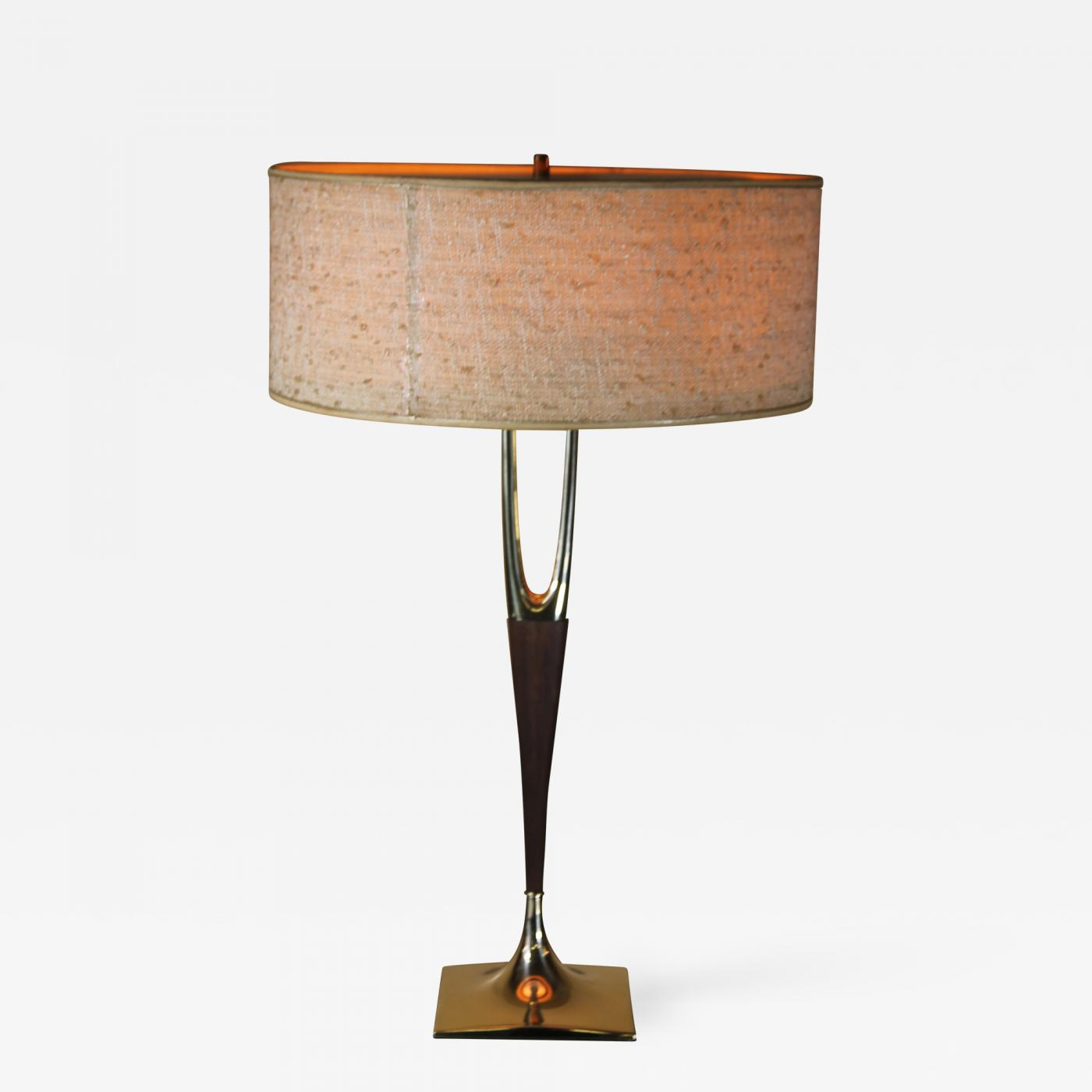 Gerald Thurston Gerald Thurston For Laurel Lamp Co Wishbone Lamp