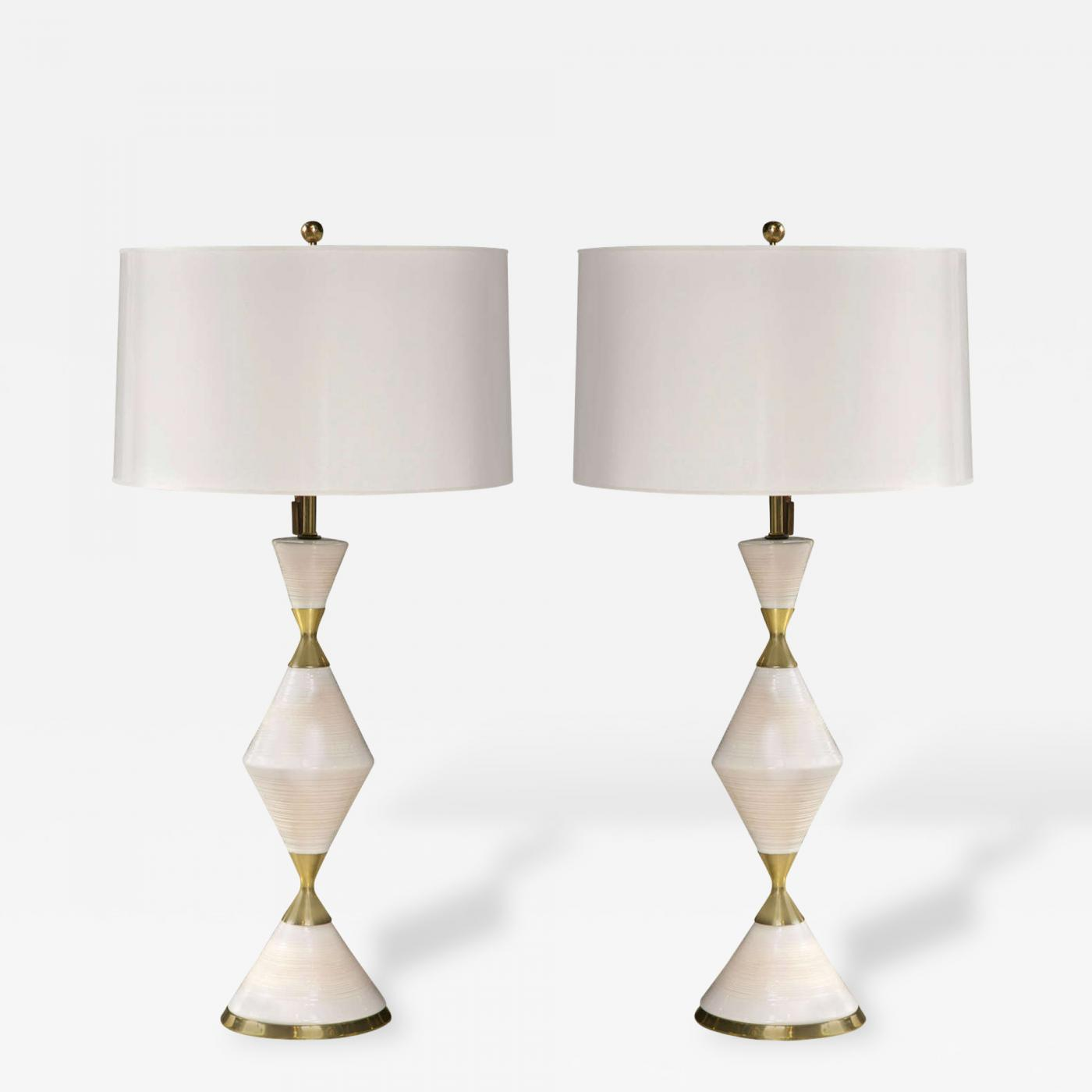 Gerald thurston pair of gerald thurston hourglass lamps listings furniture lighting table lamps gerald thurston geotapseo Image collections