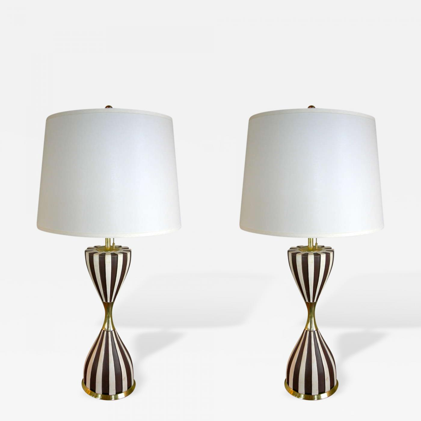 Gerald thurston pair of harlequin table lamps by gerald thurston listings furniture lighting table lamps gerald thurston geotapseo Image collections