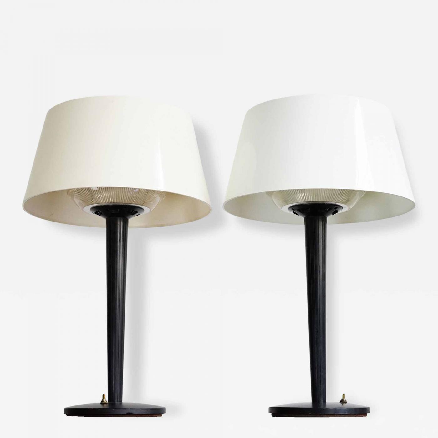 art lamp for mid sold century thurston sale prices paintings modern artwork desk lamps gerald artist at saucer auction