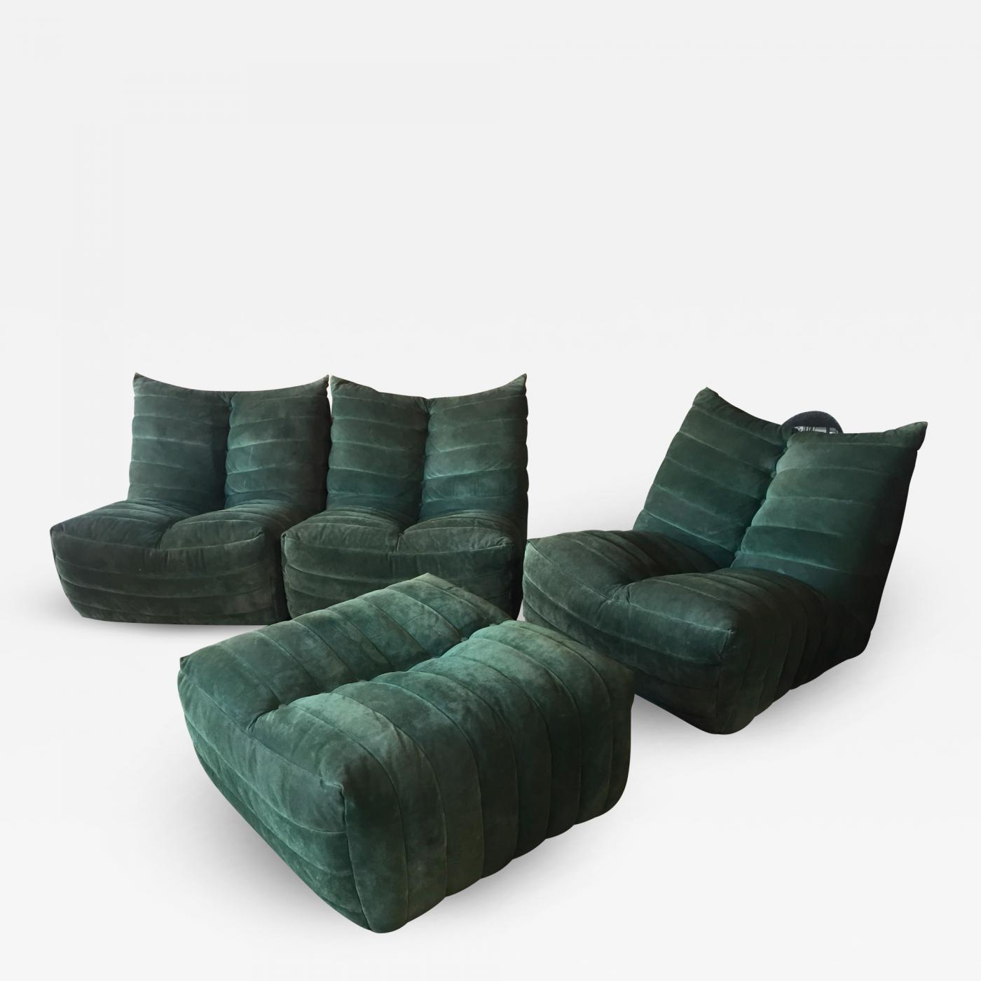 Fantastic Gianfranco Grignani Modular Green Sectional Sofa Giannone By Arch G Grignani For 7Salotti Italy Unemploymentrelief Wooden Chair Designs For Living Room Unemploymentrelieforg