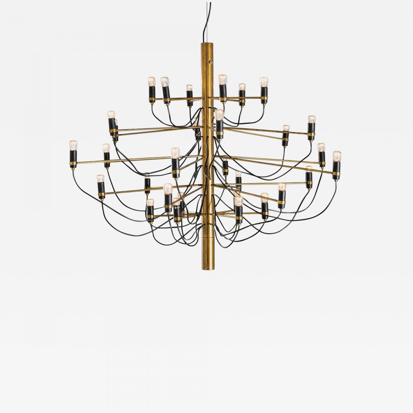 Listings Furniture Lighting Chandeliers And Pendants Gino Sarfatti Chandelier 2097