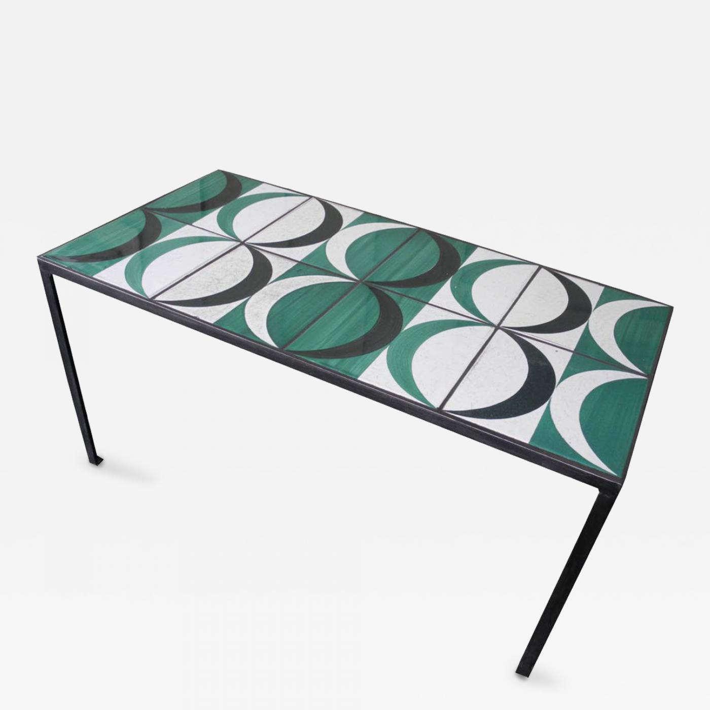 Gio Ponti Coffee Table with Original Gio Ponti Tiles
