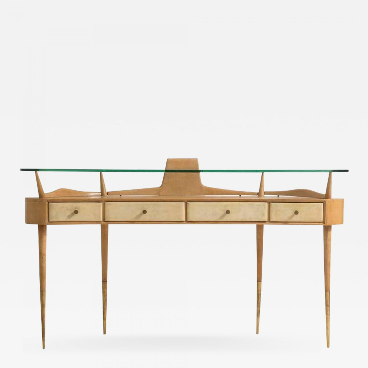 Gio Ponti Italian Mid Century Modern Dressing Table Attributed To