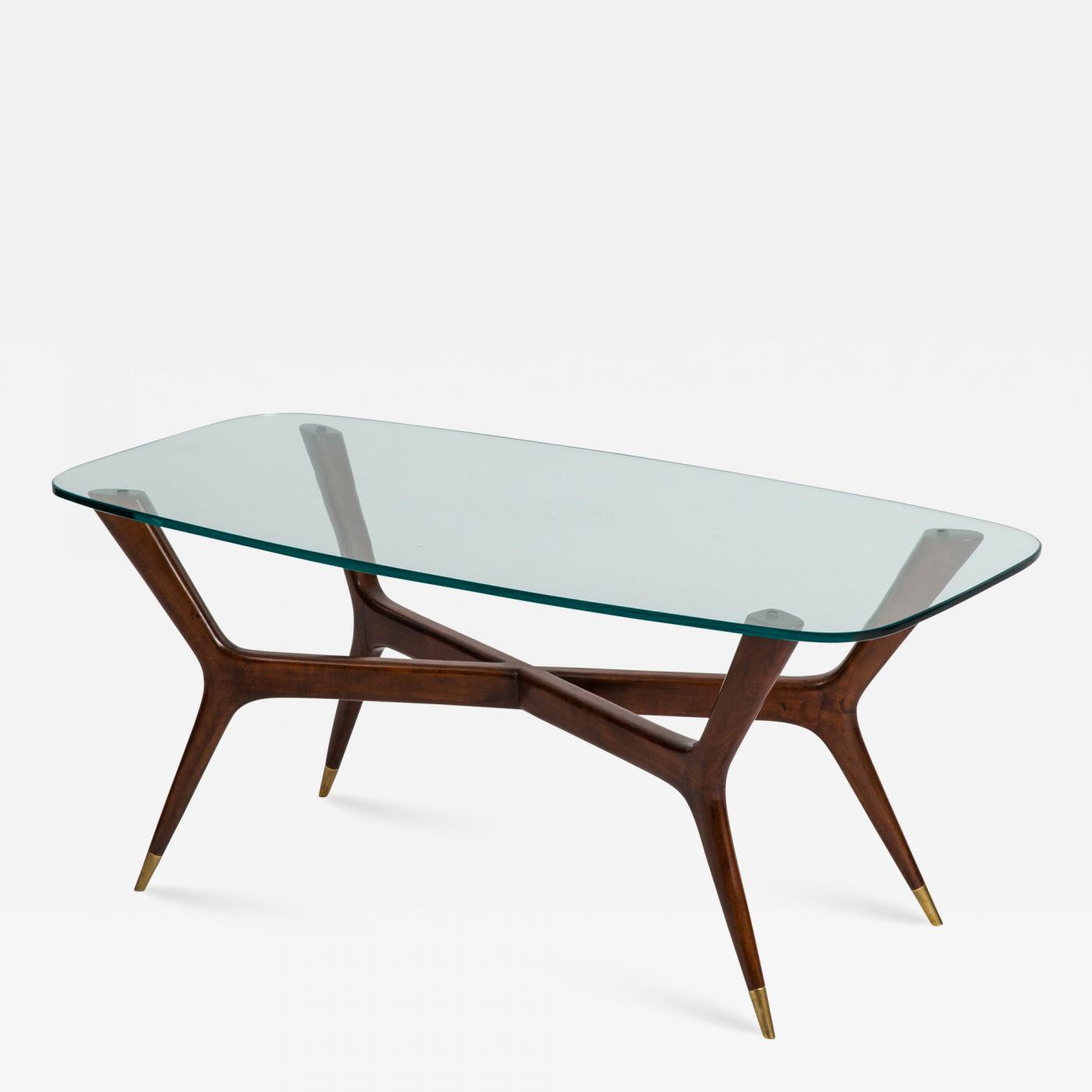 Italian Glass Coffee Table.Gio Ponti Coffee Table By Gio Ponti