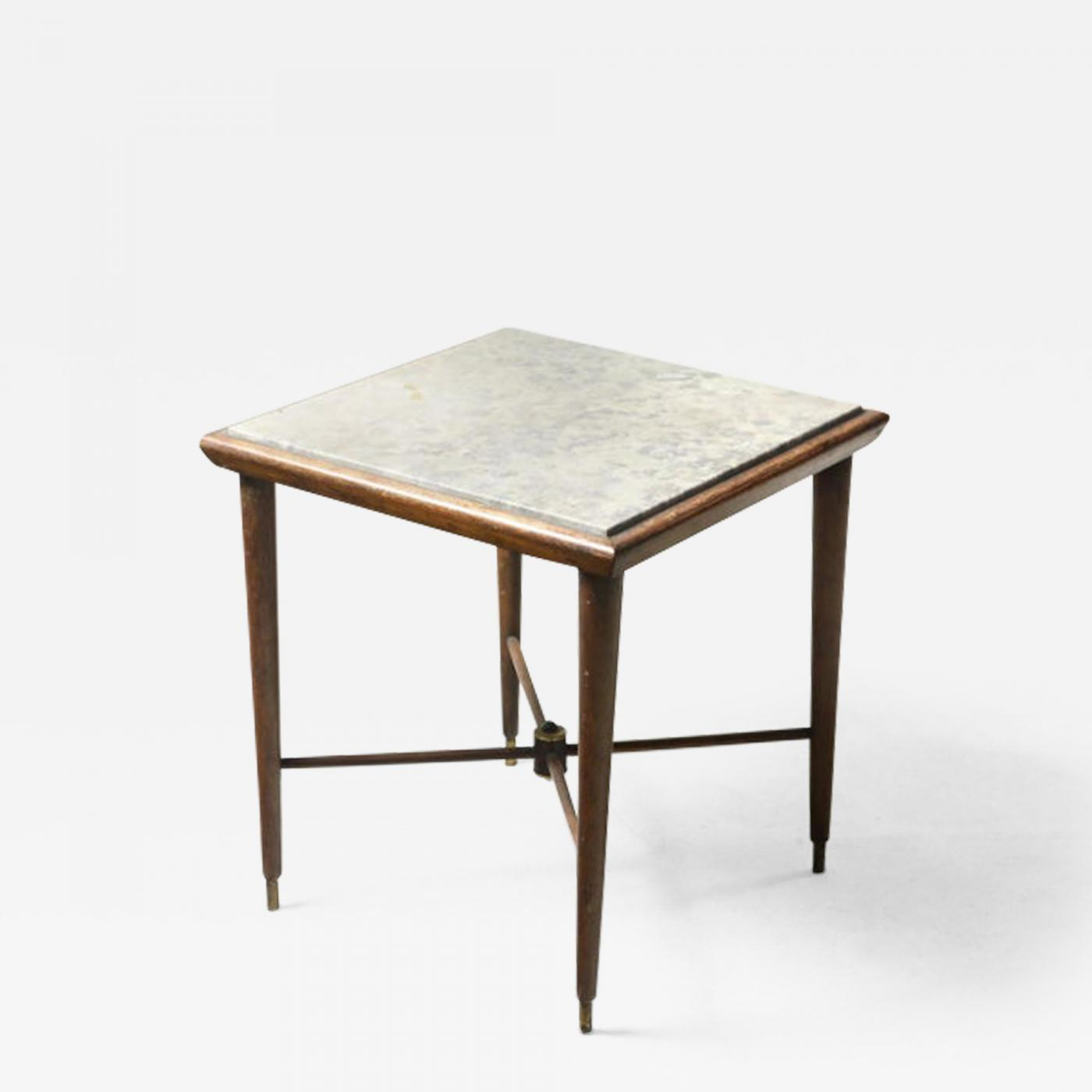 Picture of: Giuseppe Scapinelli Mid Century Modern Marble Top Side Table By Giuseppe Scapinelli Brazil 1950s