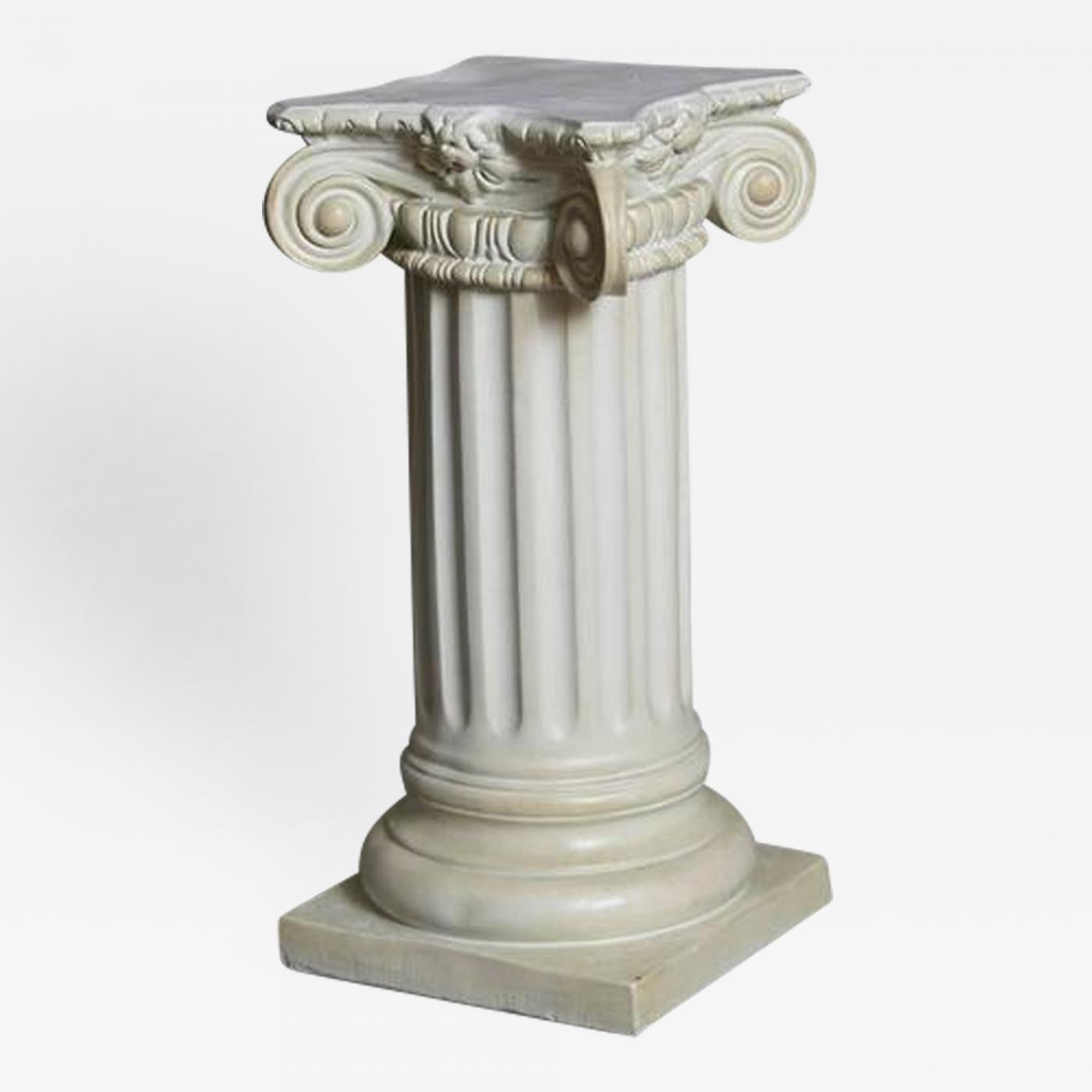 garden large mould tag pedestal plaster square pedestals the old