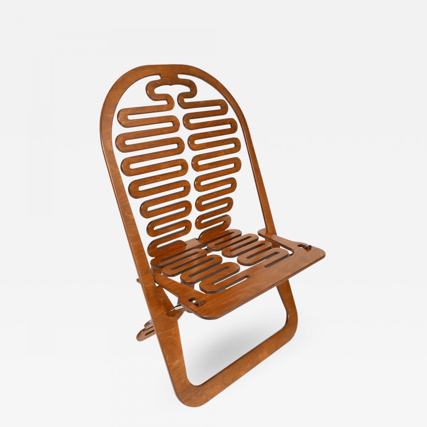 Peachy Gregg Fleishman Rare Gregg Fleishman Prototype European Birch Lumbarest Chair Alphanode Cool Chair Designs And Ideas Alphanodeonline