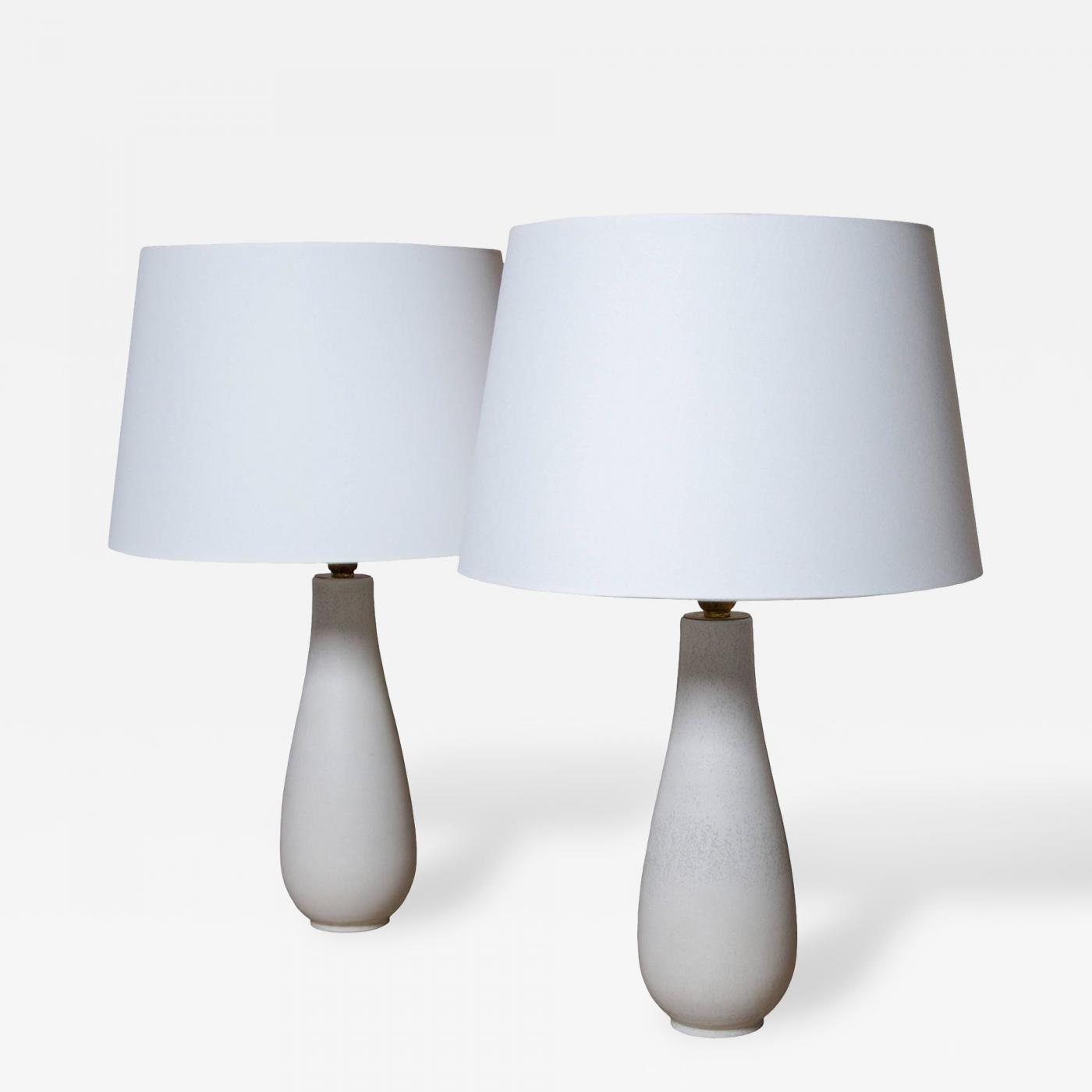 Gunnar nylund gunnar nylund pair of handmade ceramic table lamps listings furniture lighting table lamps geotapseo Choice Image