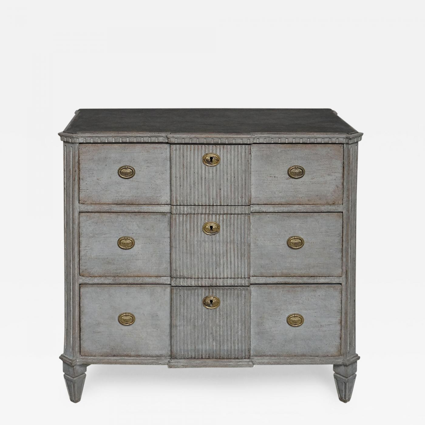 Listings / Furniture / Case Pieces U0026 Storage / Painted Case Pieces · Gustavian  Style ...