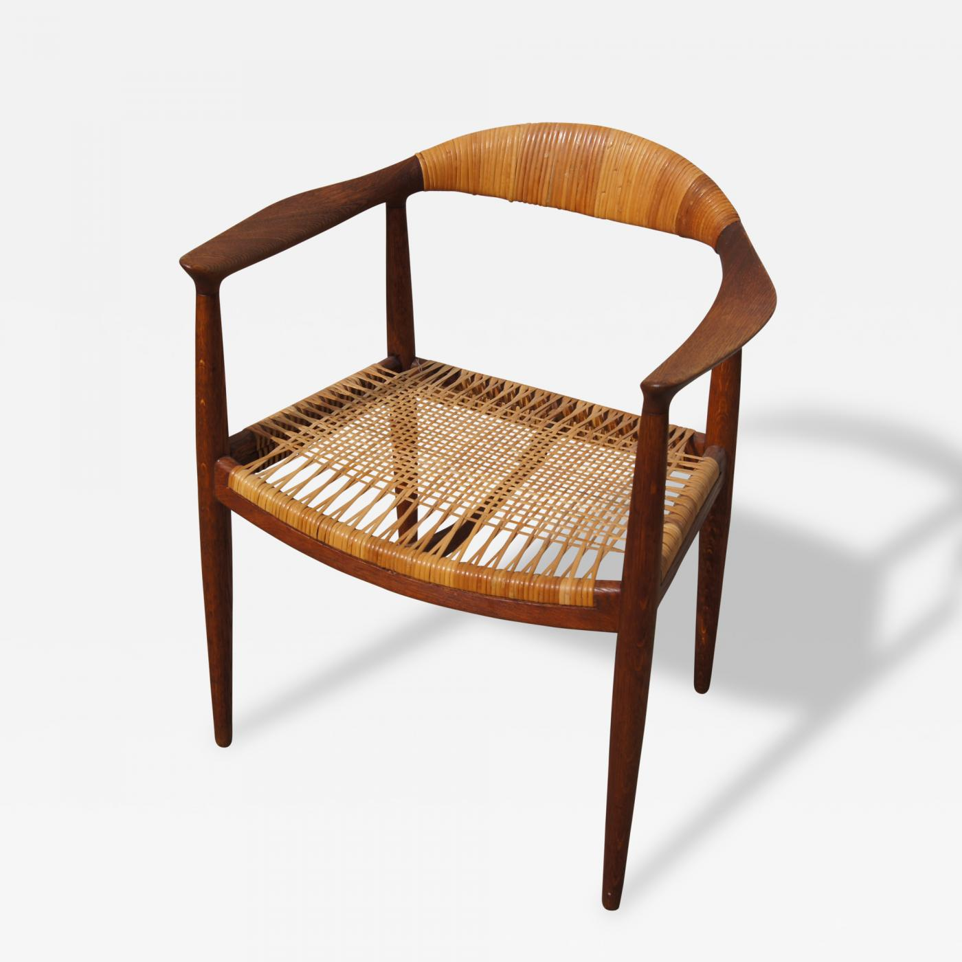 "Hans Wegner ""The Chair"" Armchair by Hans Wegner for Johannes Hansen"