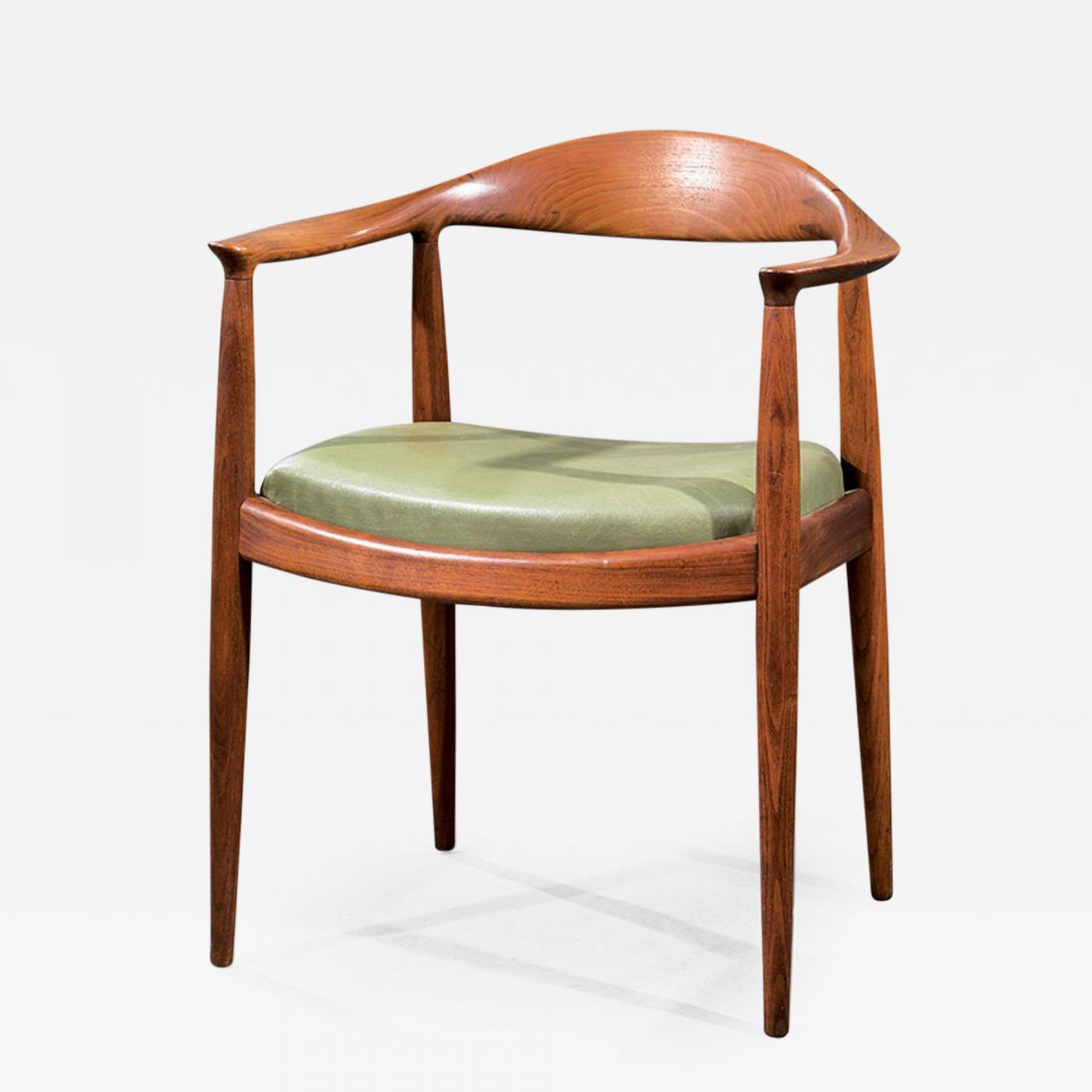 Hans Wegner - A Vintage Danish Teak Armchair by Hans Wegner