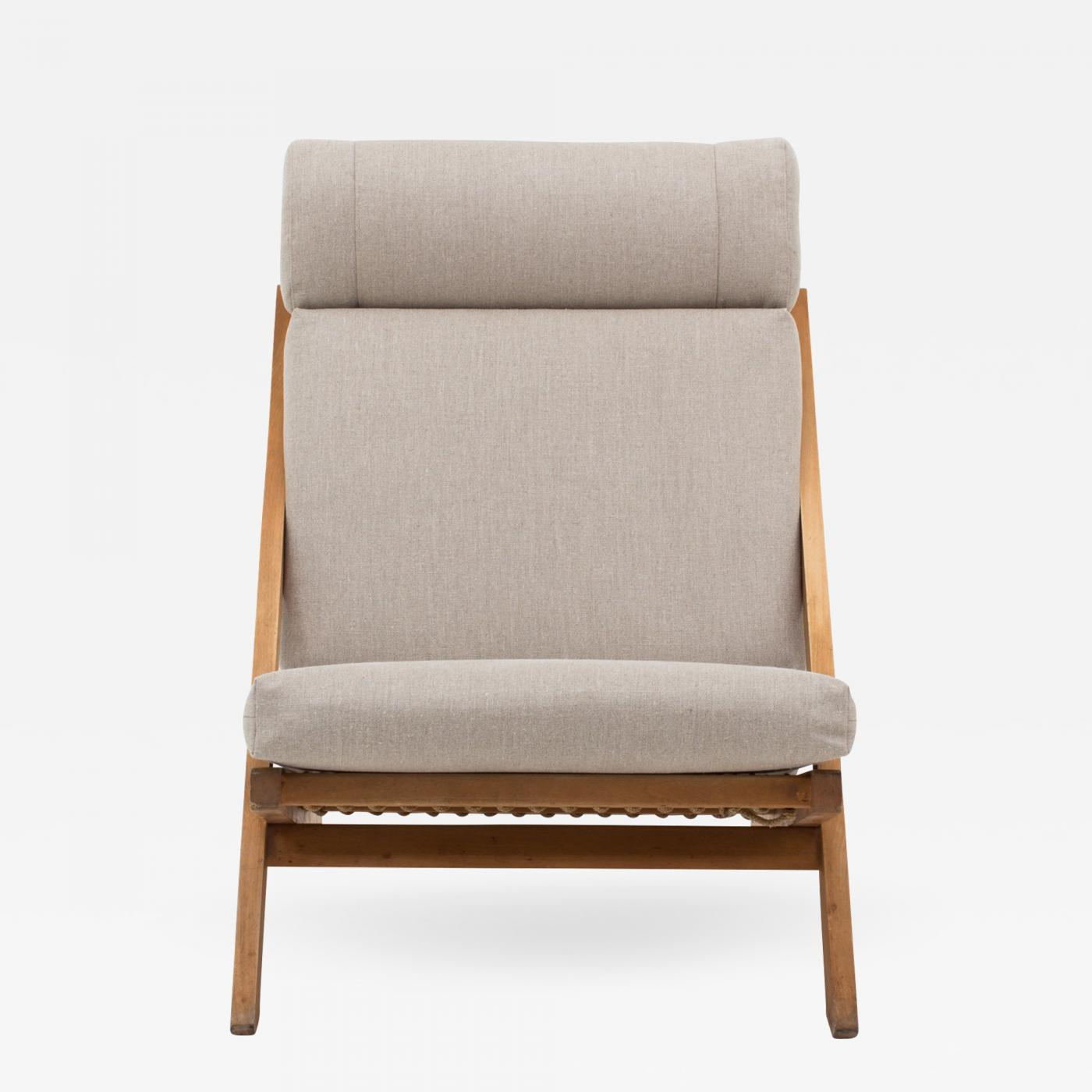 Hans J Wegner CH 3 Lounge Chair in Beech