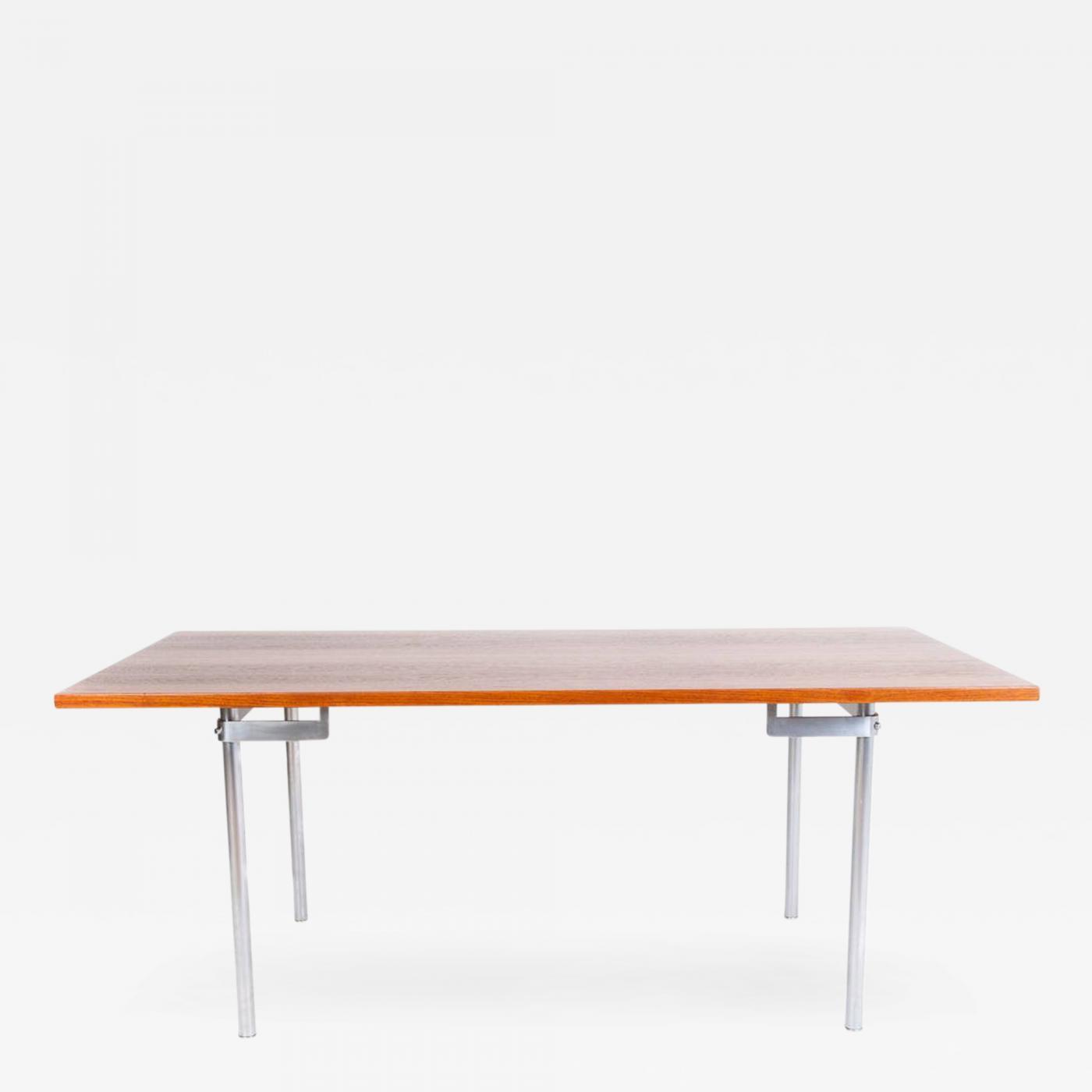 Hans Wegner Dining Table by Hans J Wegner Model AT318