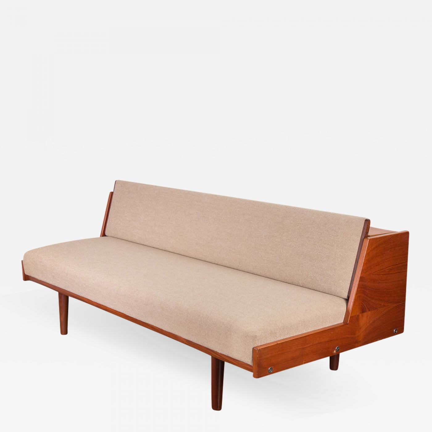hans wegner hans j wegner ge6 daybed sofa for getama. Black Bedroom Furniture Sets. Home Design Ideas