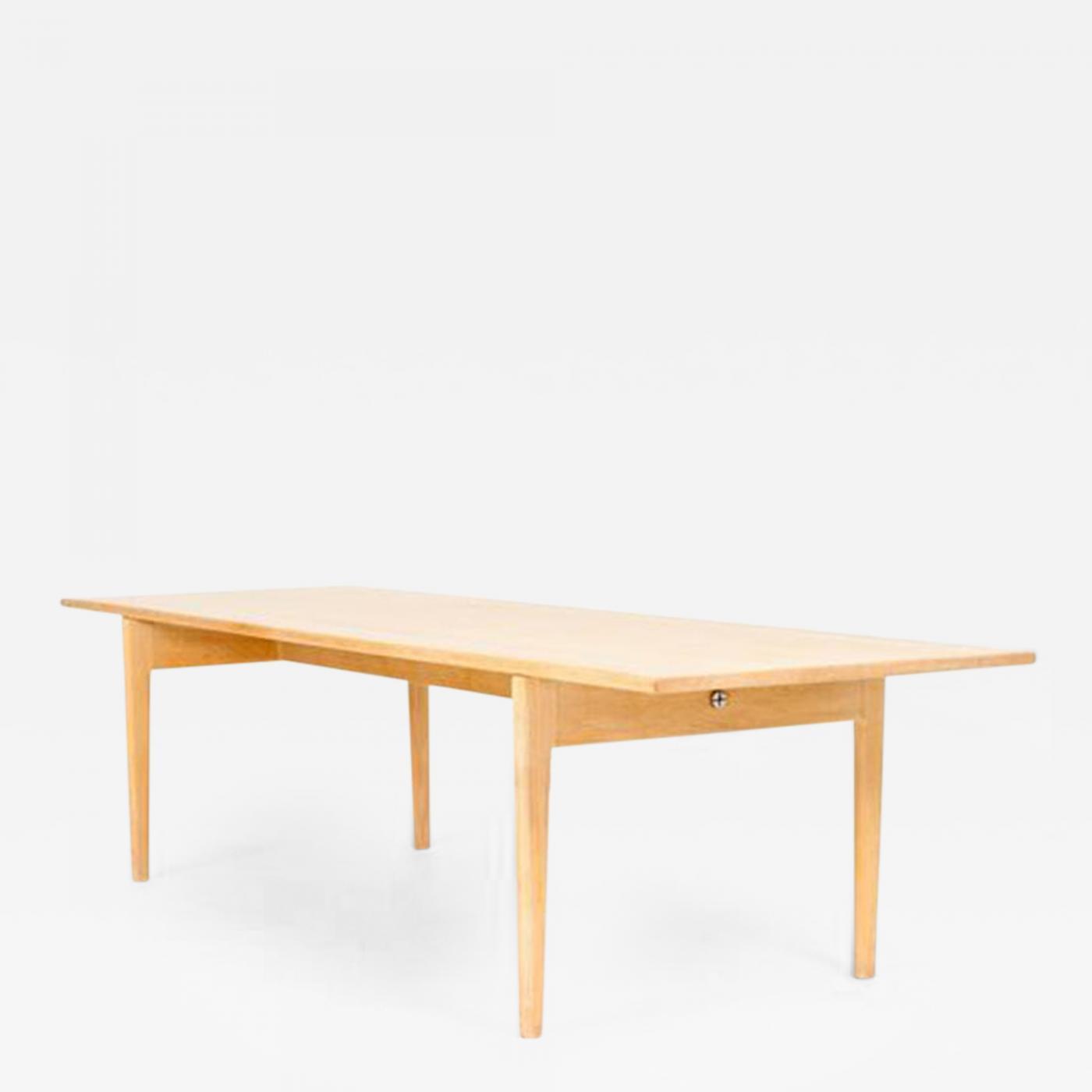 Hans Wegner Hans J Wegner Oak Coffee Table Model AT 15